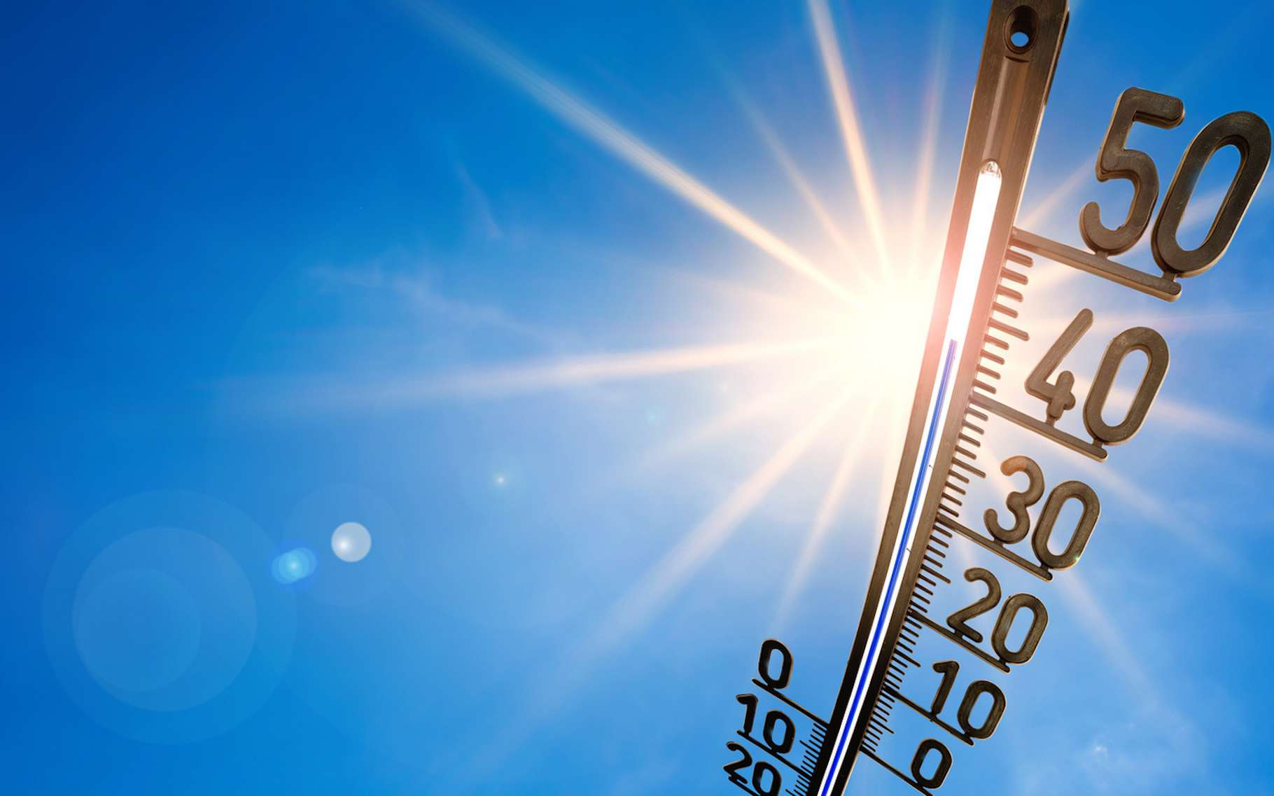 Le phénomène de canicule se définit par des températures anormalement élevées pendant plusieurs jours et nuits consécutifs. La définition précise dépend de la région du monde considérée. © John Smith, Fotolia