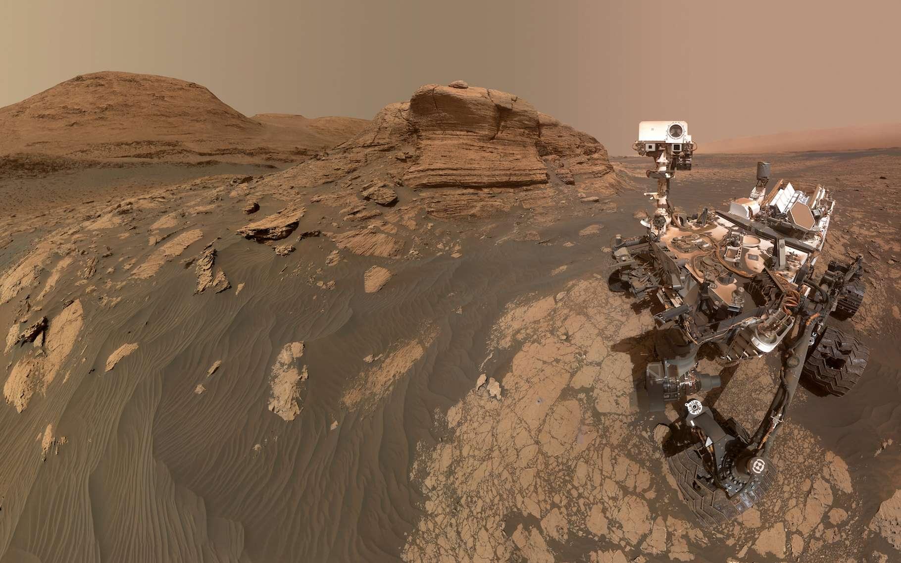 Mars : « Pour la première fois, nous pouvons retracer l'évolution du climat sur plusieurs millions d'années »