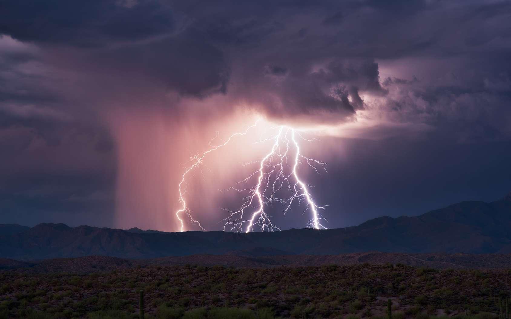 Les orages sont parmi les phénomènes météorologiques les plus difficiles à prévoir du fait de leur caractère bref et extrêmement local notamment. © mdesigner125, fotolia