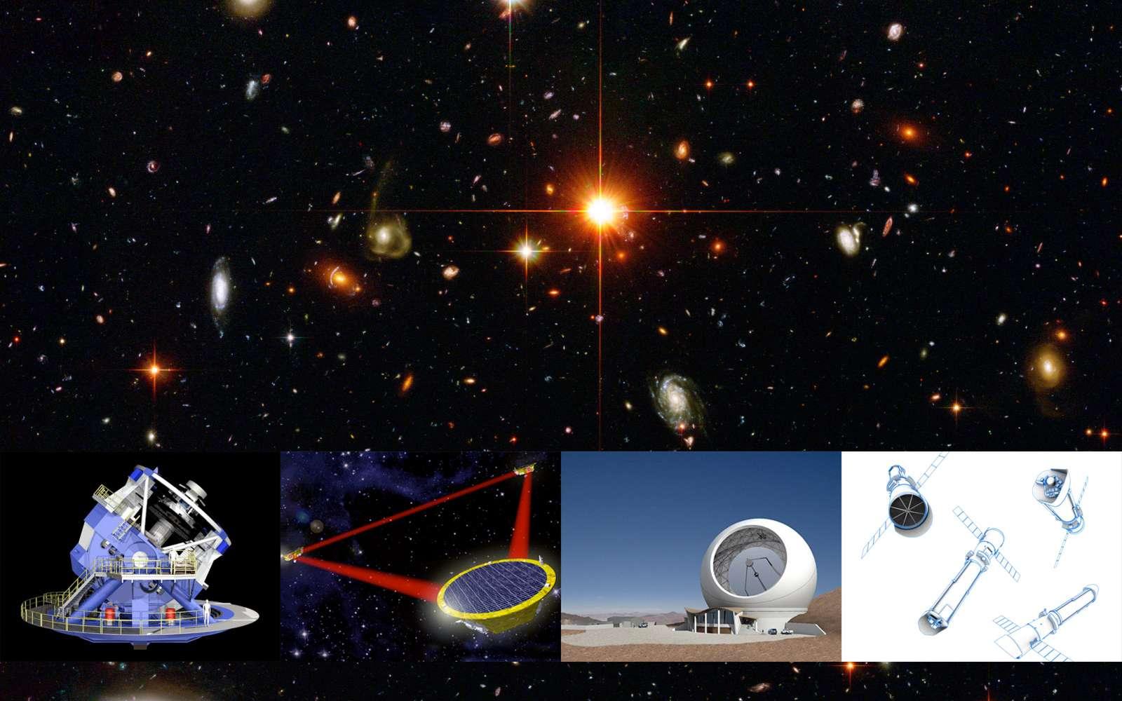 Le Conseil national de la recherche américain vient de rendre public son 2010 Decadal Survey qui dresse la liste des instruments scientifiques prioritaires. Crédits Droits réservés