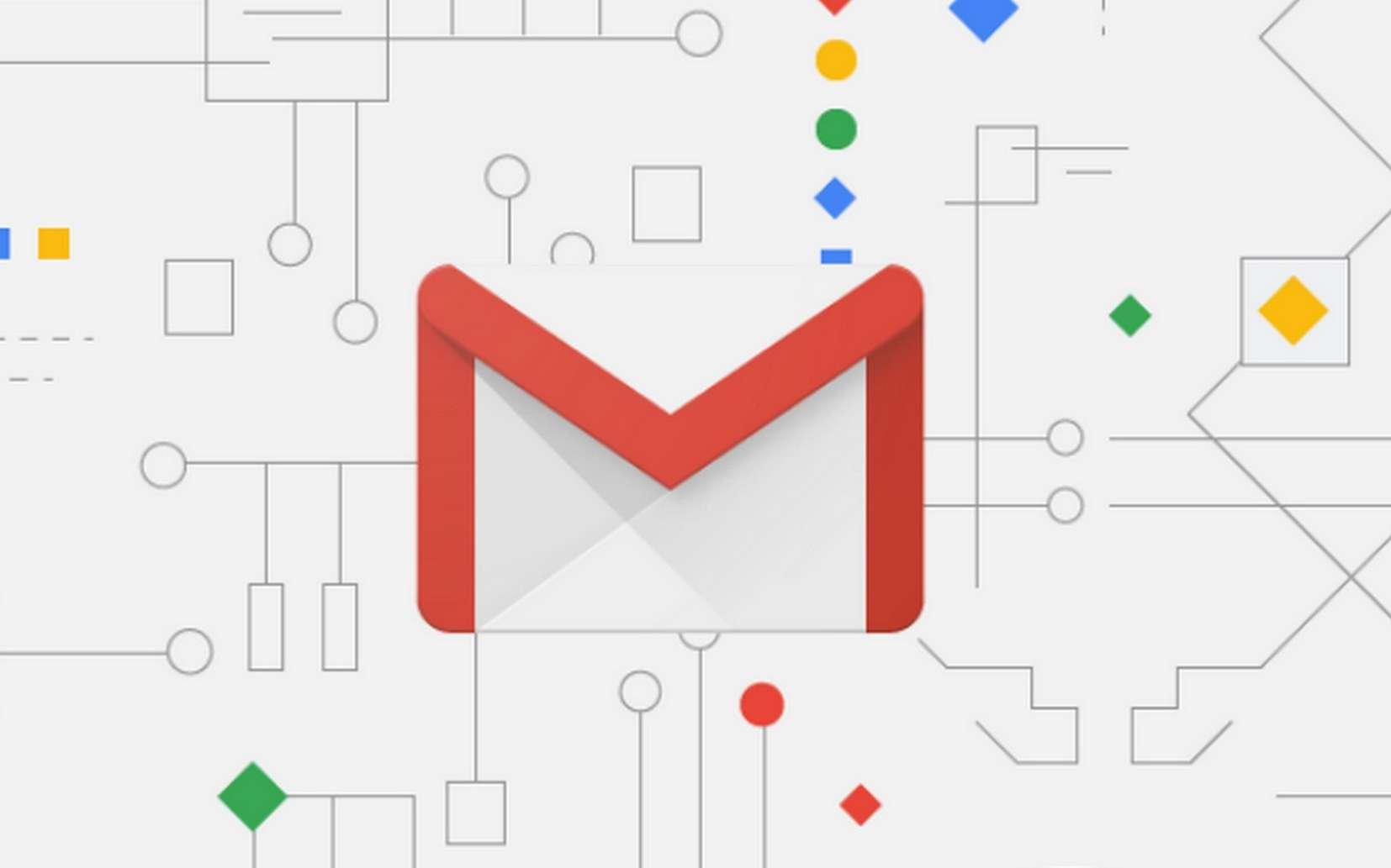 La nouvelle interface de GMail a un design aux contours plus arrondis. © Google