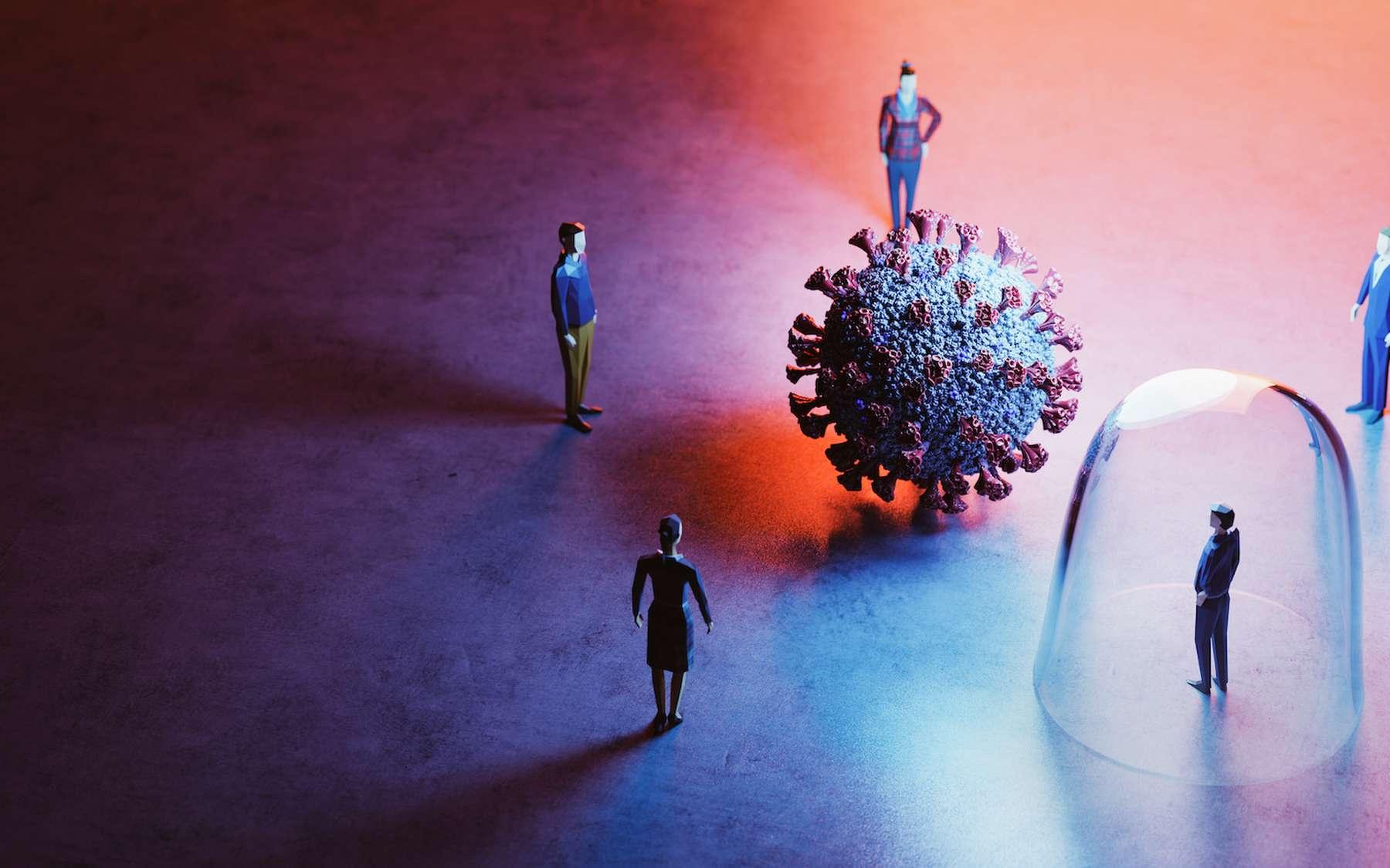 Quelle est la différence entre une immunité « naturelle » après une infection et une immunité conférée par un vaccin ? © Photocreo Bednarek, Adobe Stock