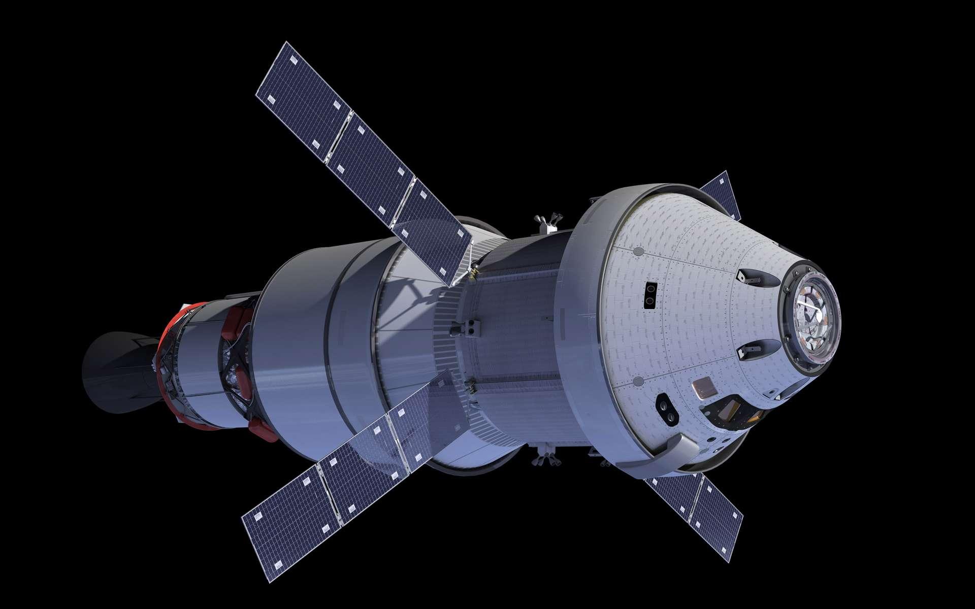 Le véhicule Orion de la Nasa qui sera utilisé pour des voyages à destination de la Lune, voire Mars. © Nasa