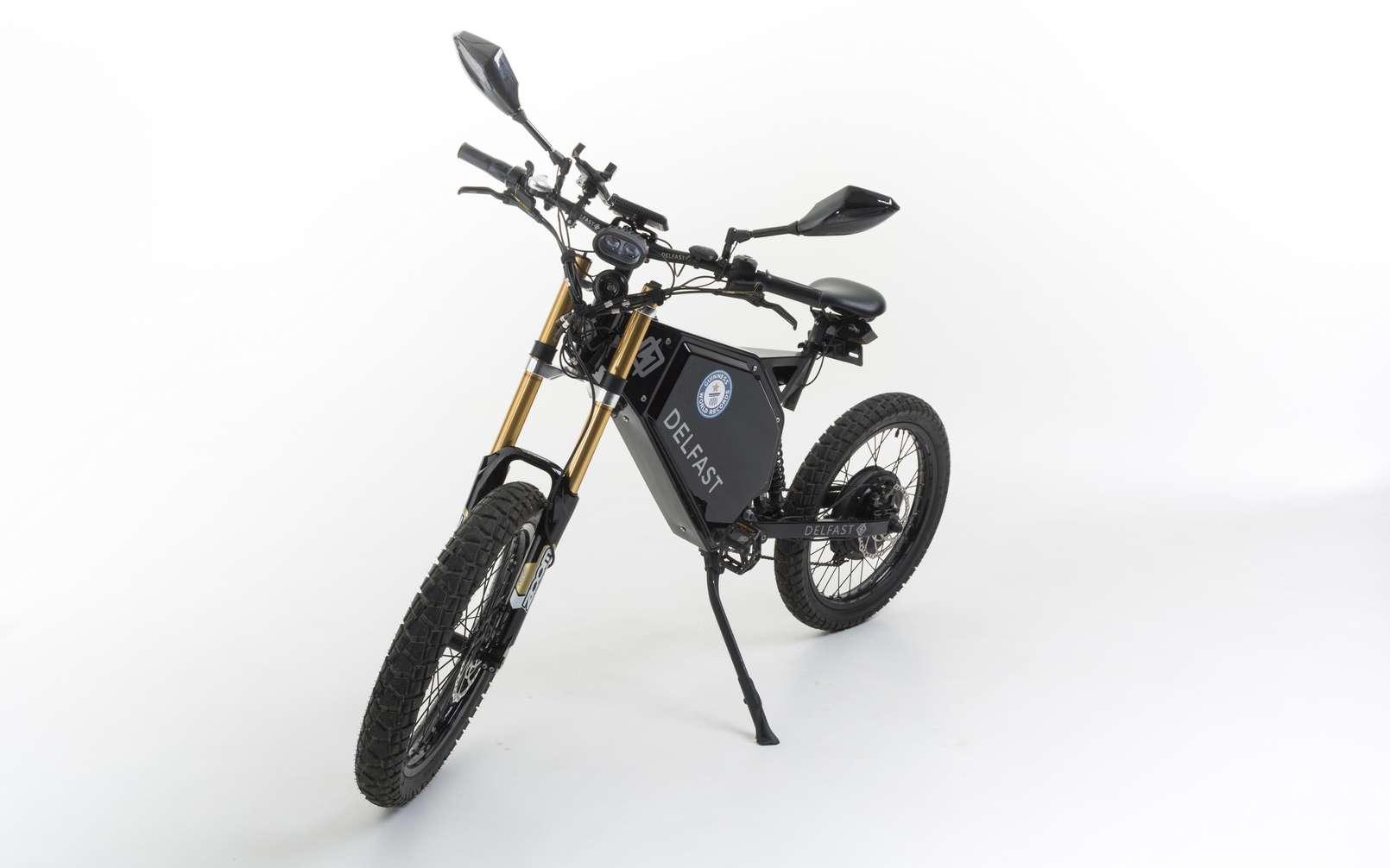 Le Delfast Top 3.0 est l'un des vélos électriques les plus impressionnants de sa catégorie. © Delfast