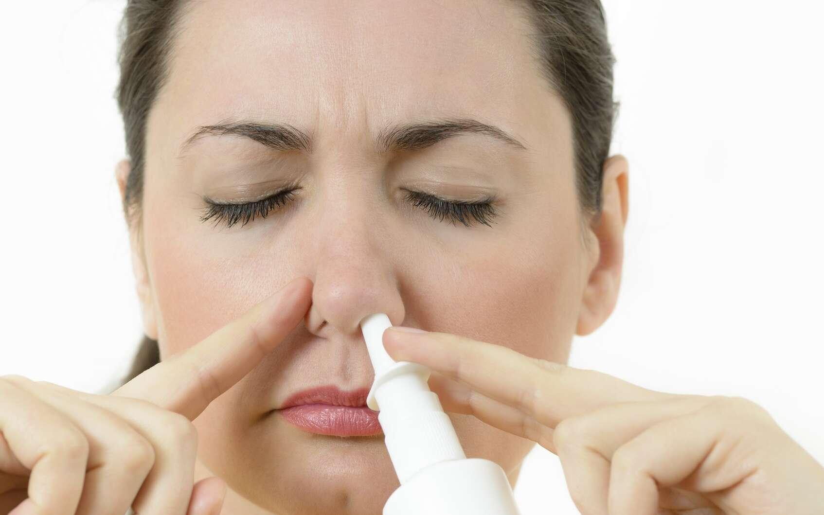 Le médicament sera proposé sous la forme d'un spray nasal. © oneblink1, Fotolia