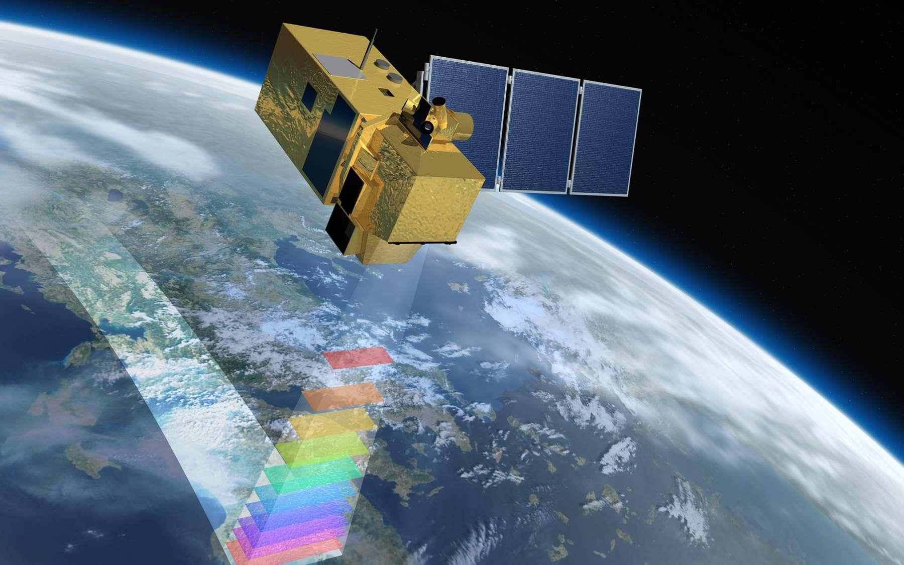 La signature du deuxième exemplaire de la série des Sentinelle-2 permettra de garantir la continuité des données au moins jusqu'en 2022. Un paramètre clé pour mieux comprendre les effets du changement climatique. Crédit Astrium