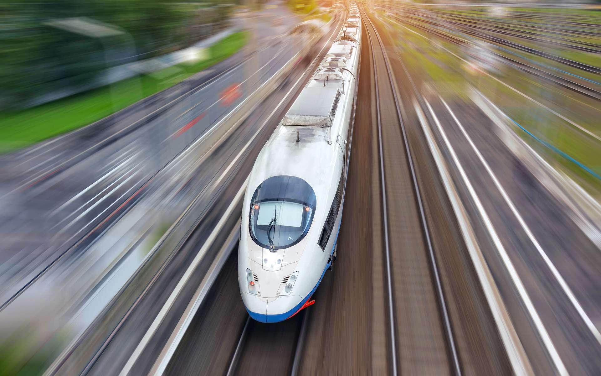 En France, des trains autonomes pourraient rouler dès 2025. C'est du moins le pari de la SNCF. © Aapsky, Adobe Stock