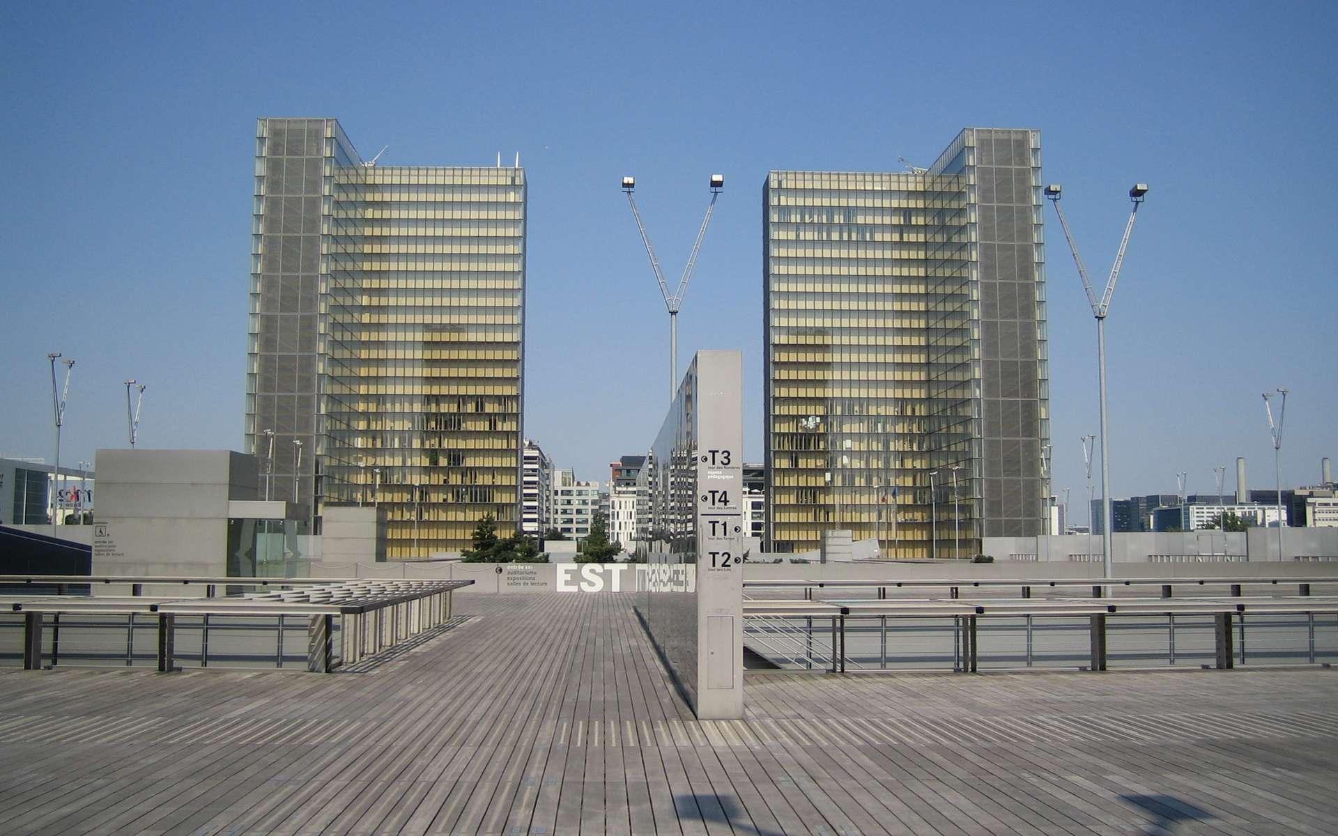 La Bibliothèque nationale de France. Crédit: wikipedia/commons