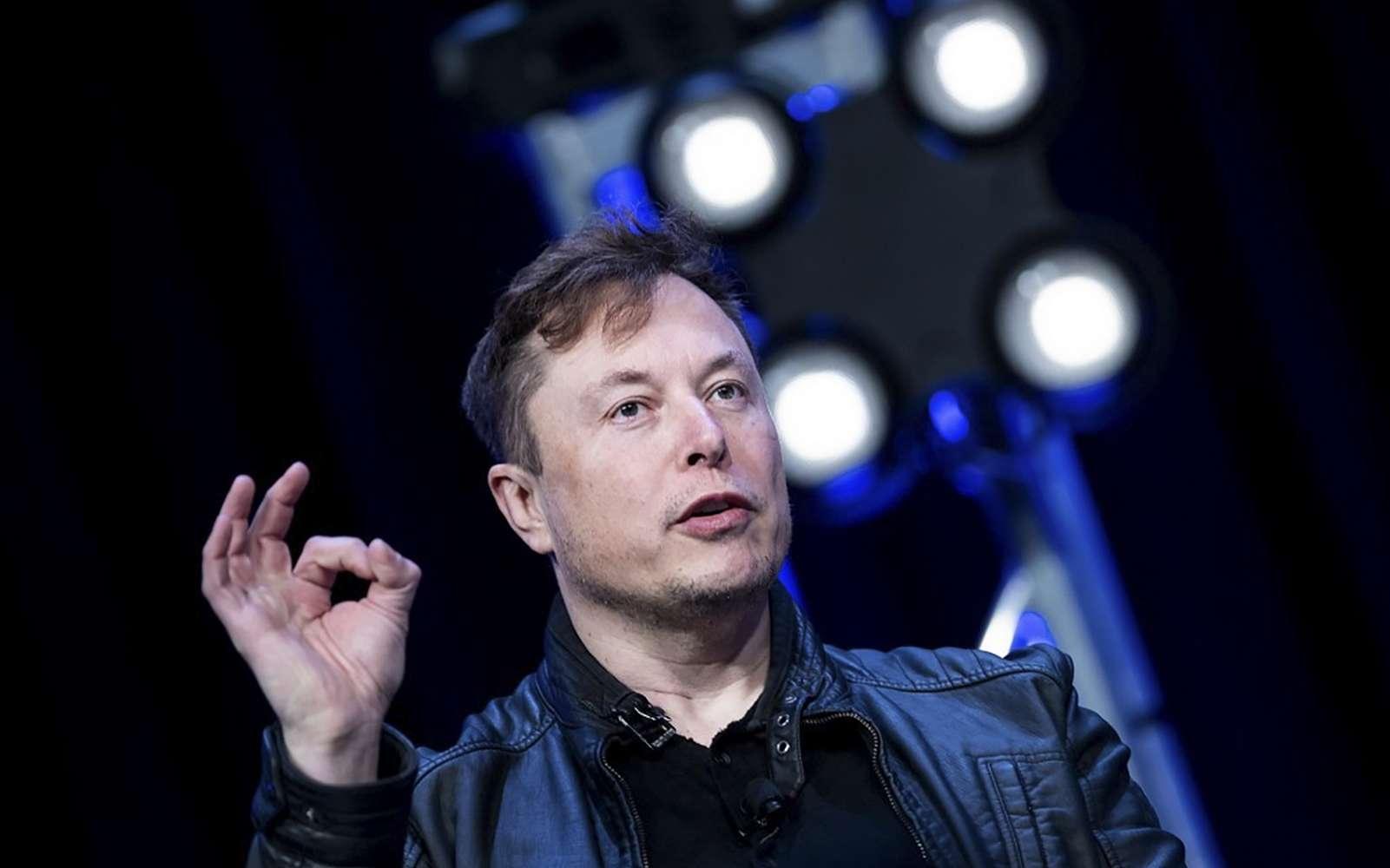 Le patron de Tesla vend sa première chanson dans la blockchain. © Brendan Smialowski, AFP