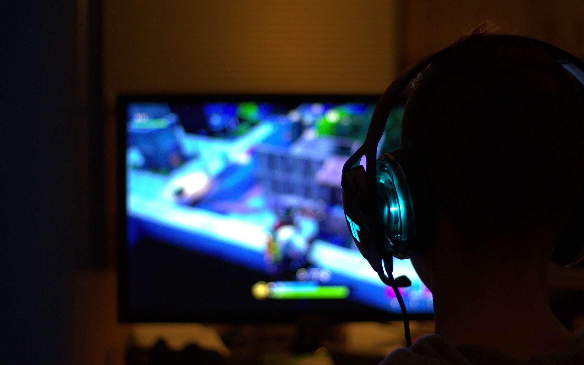 Le géant Tencent utilise désormais la reconnaissance faciale pour empêcher les enfants chinois de jouer la nuit. © Pixabay