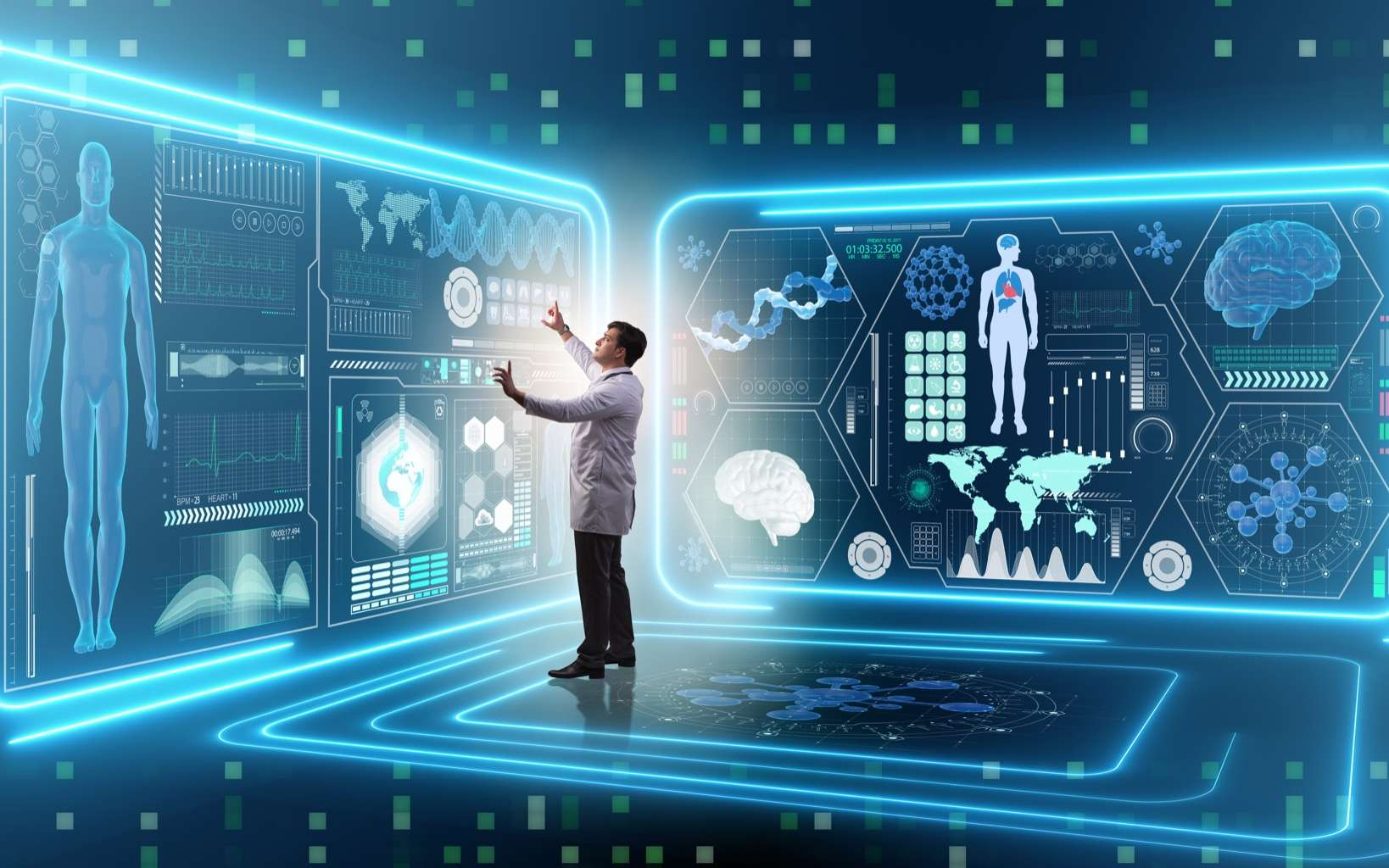 Le digital se développe dans le domaine de la santé. © Elnur, Adobe Stock