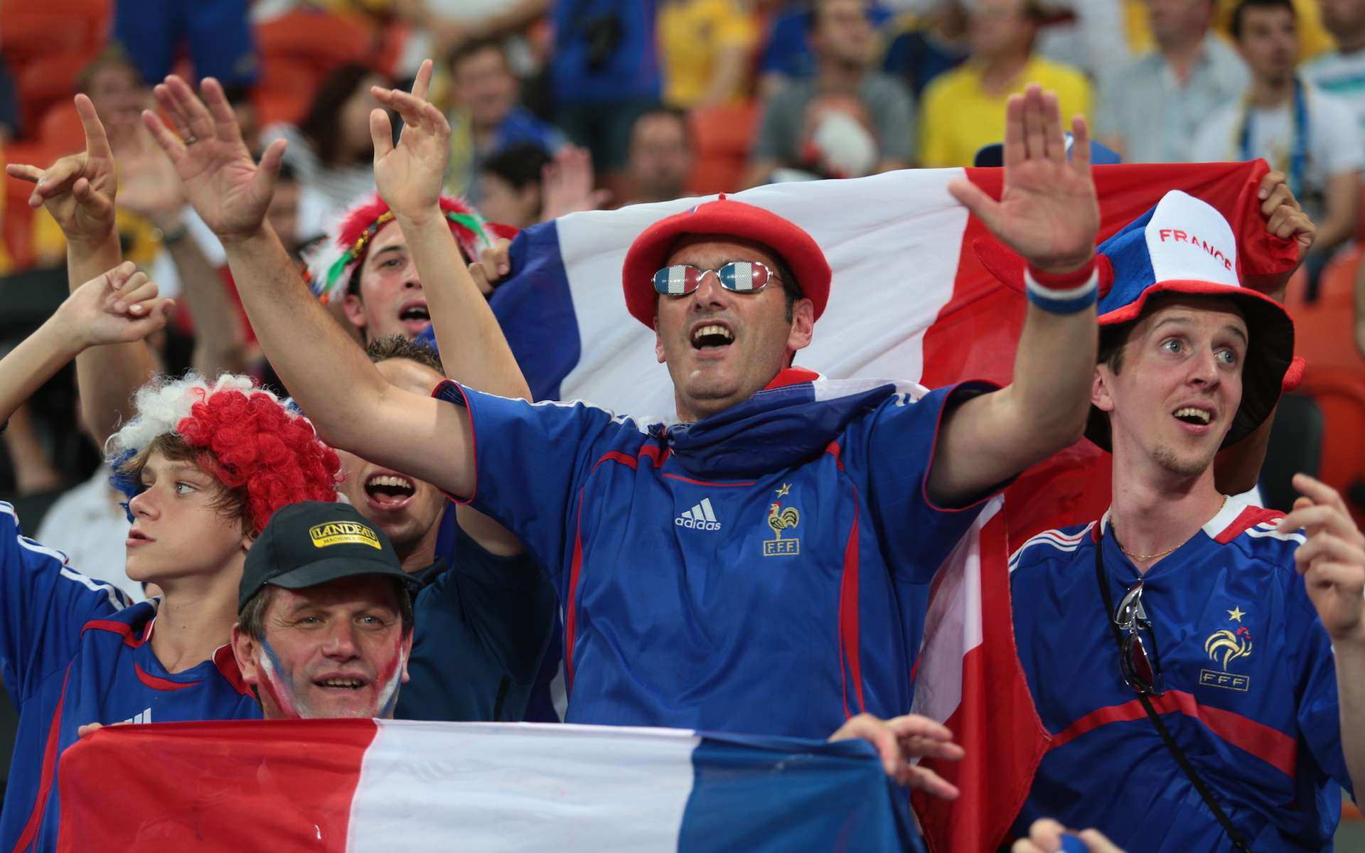 Lors de la Coupe du monde 1998, l'équipe de France de football avait l'avantage de jouer à domicile. © photo_master2000, Shutterstock