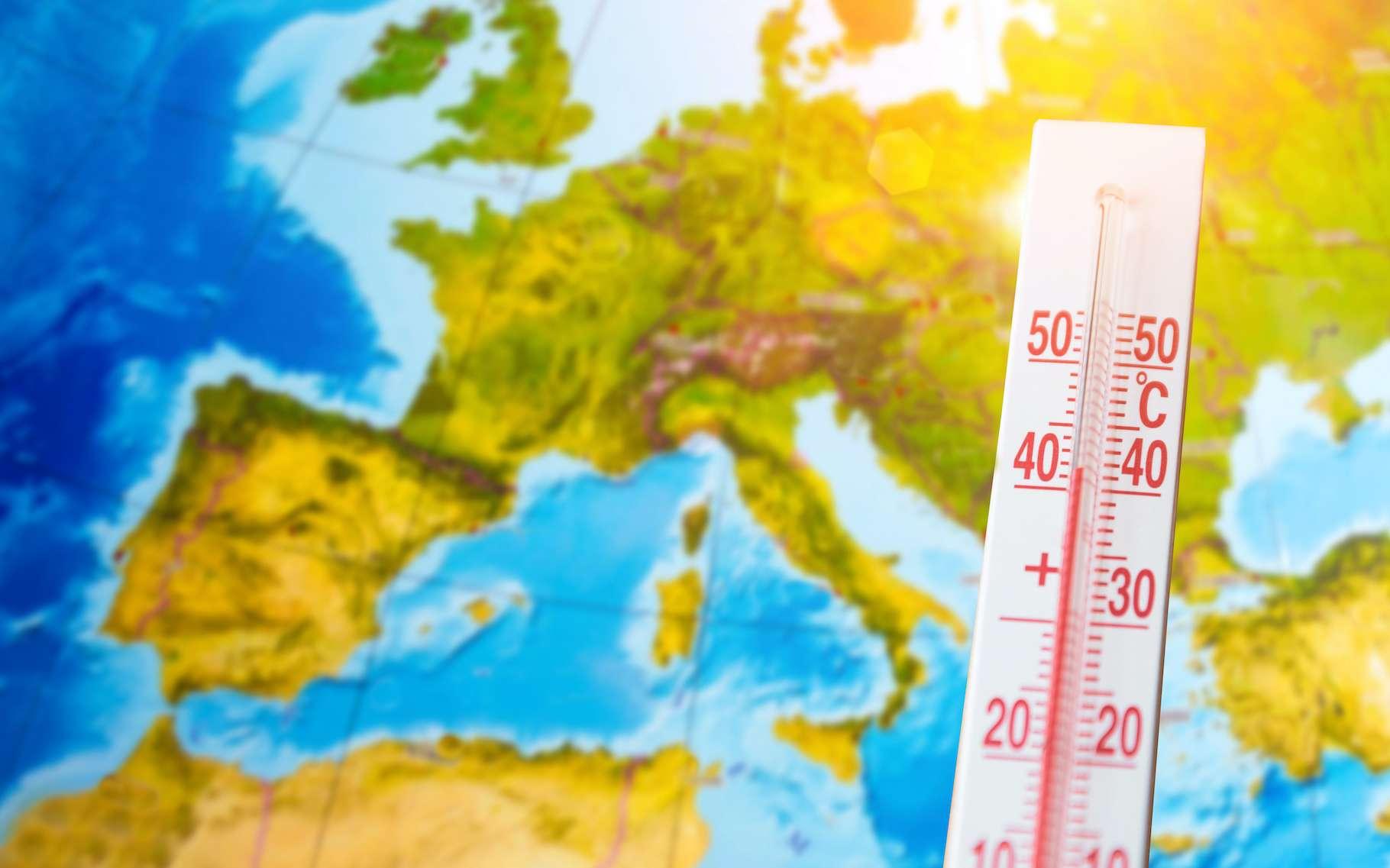 La France connait en ce moment un épisode de forte chaleur tardif pratiquement jamais vu. © aapsky, Adobe Stock