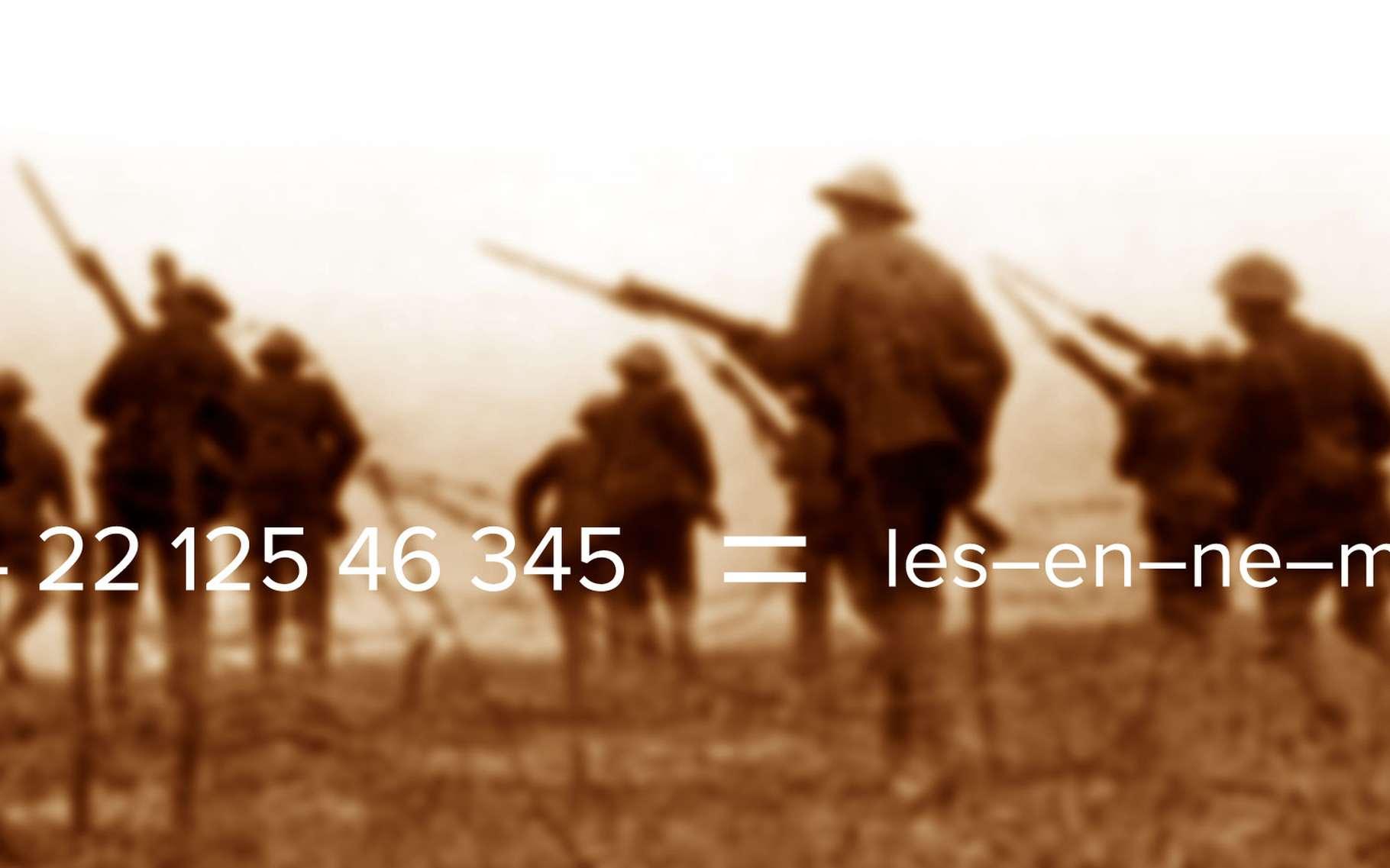 Les codes secrets pendant la première guerre mondiale. © Geoffrey Malins, Wikipia, DP