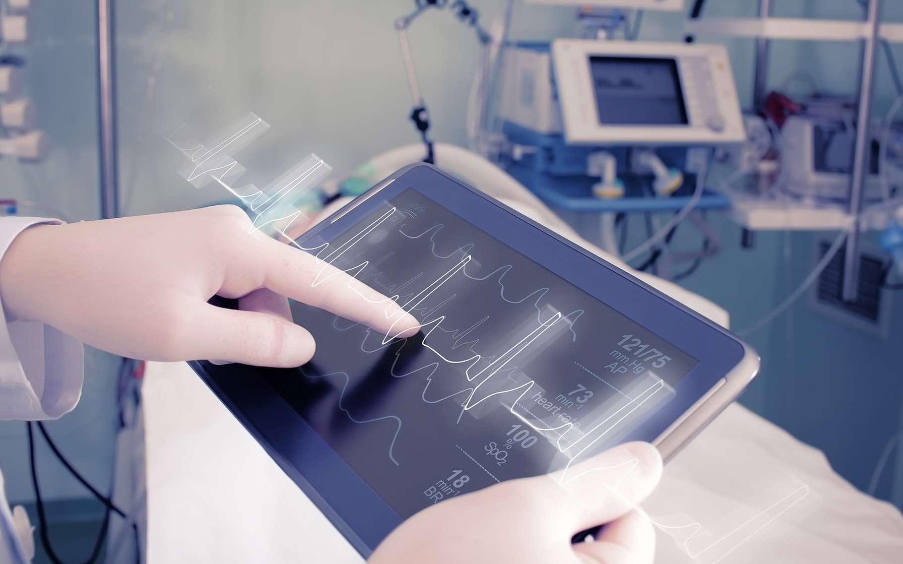 Dans le futur, notre santé sera placée sous la surveillance de microcapteurs intégrés à notre corps, des microcapteurs qui pourraient être constitués de graphène. © sfam_photo, Shutterstock