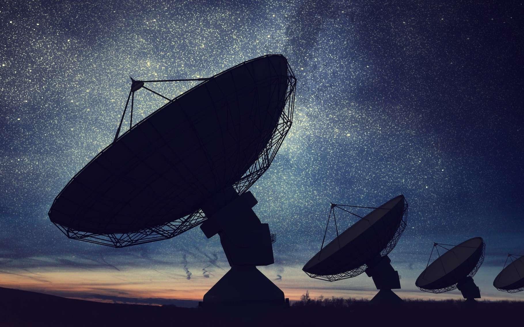 Des chercheurs de l'université Cornell (États-Unis) ont tendu l'oreille. Et ils viennent probablement d'enregistrer le premier signal radio provenant d'une exoplanète. © vchalup, Adobe Stock