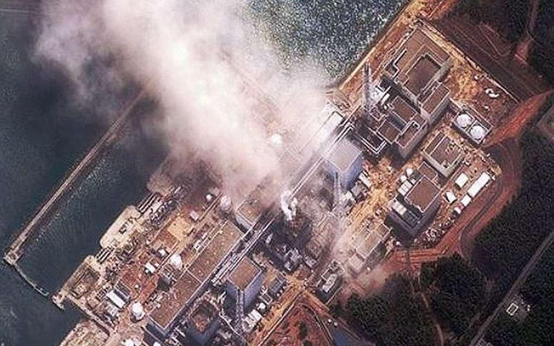 L'incendie du réacteur 1 de la centrale de Fukushima se terminera par une explosion. © Daveeza, Flickr, CC by-nc 2.0