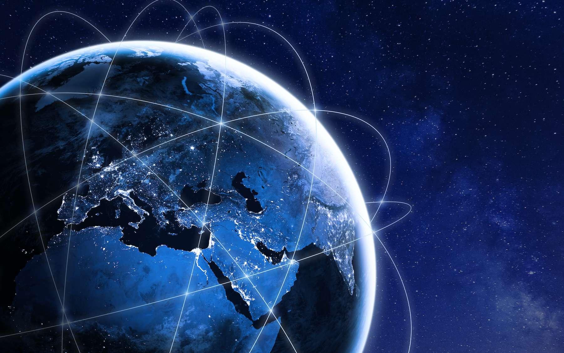 En utilisant les constellations de satellites en orbite basse, on peut déterminer sa position sur Terre. © NicoElNino, Adobe Stock
