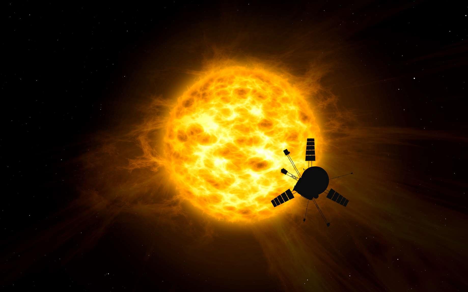 L'activité du Soleil pourrait perturber des infrastructures spatiales et terrestres. © Skórzewiak, Fotolia