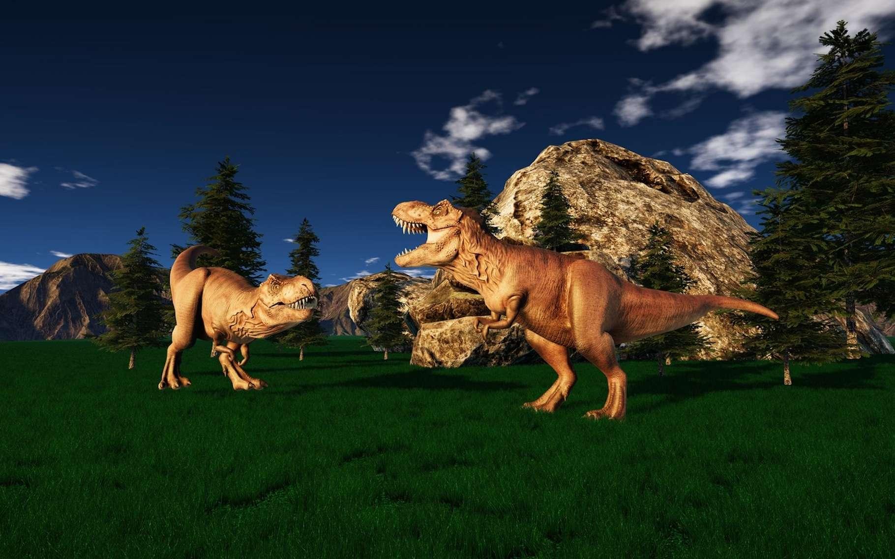 Selon des chercheurs de l'université de Washington (États-Unis), des mammifères très diversifiés partageaient déjà la Terre avec les dinosaures. © Sasa Kadrijevic, Fotolia