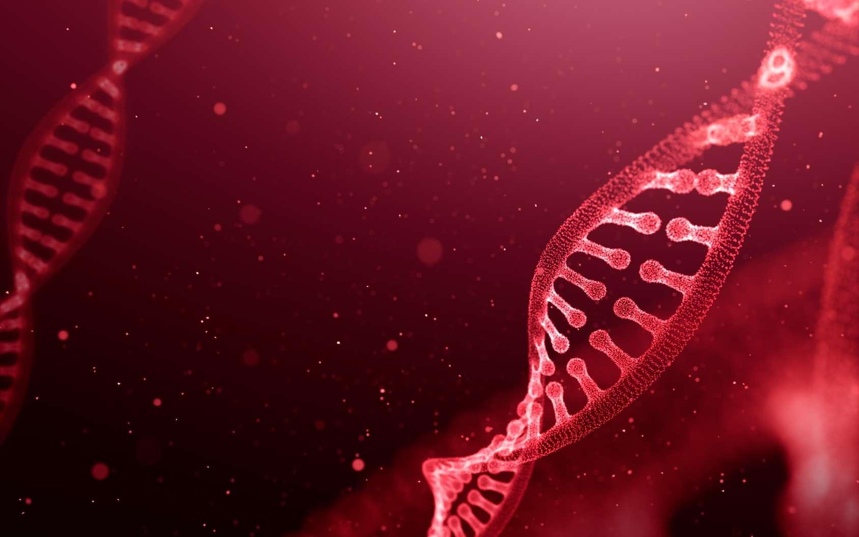 Des chercheurs ont mis au point un nouvel outil d'édition génomique pour couper de l'ADN. © phive2015, Fotolia