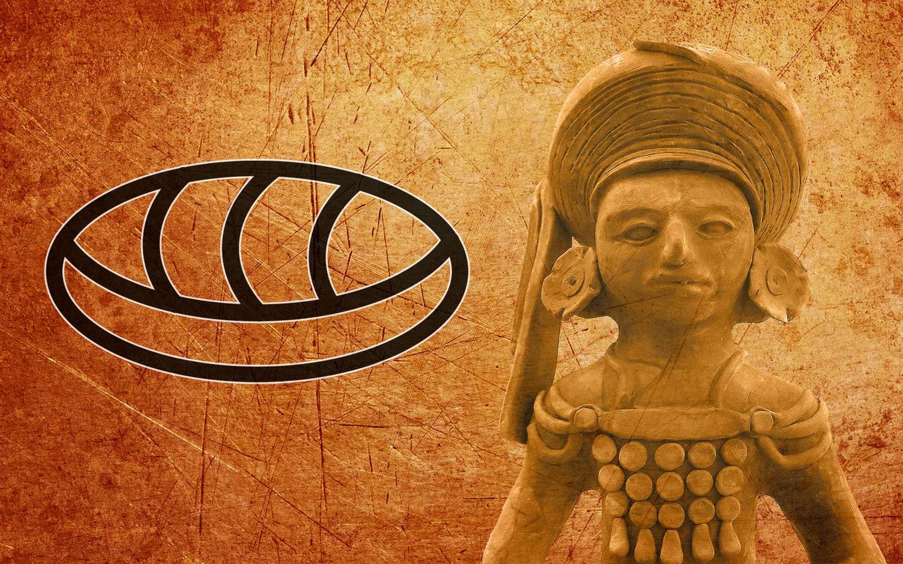 Le chiffre zéro des Mayas. © TheDigitalArtis, Pixabay, DP