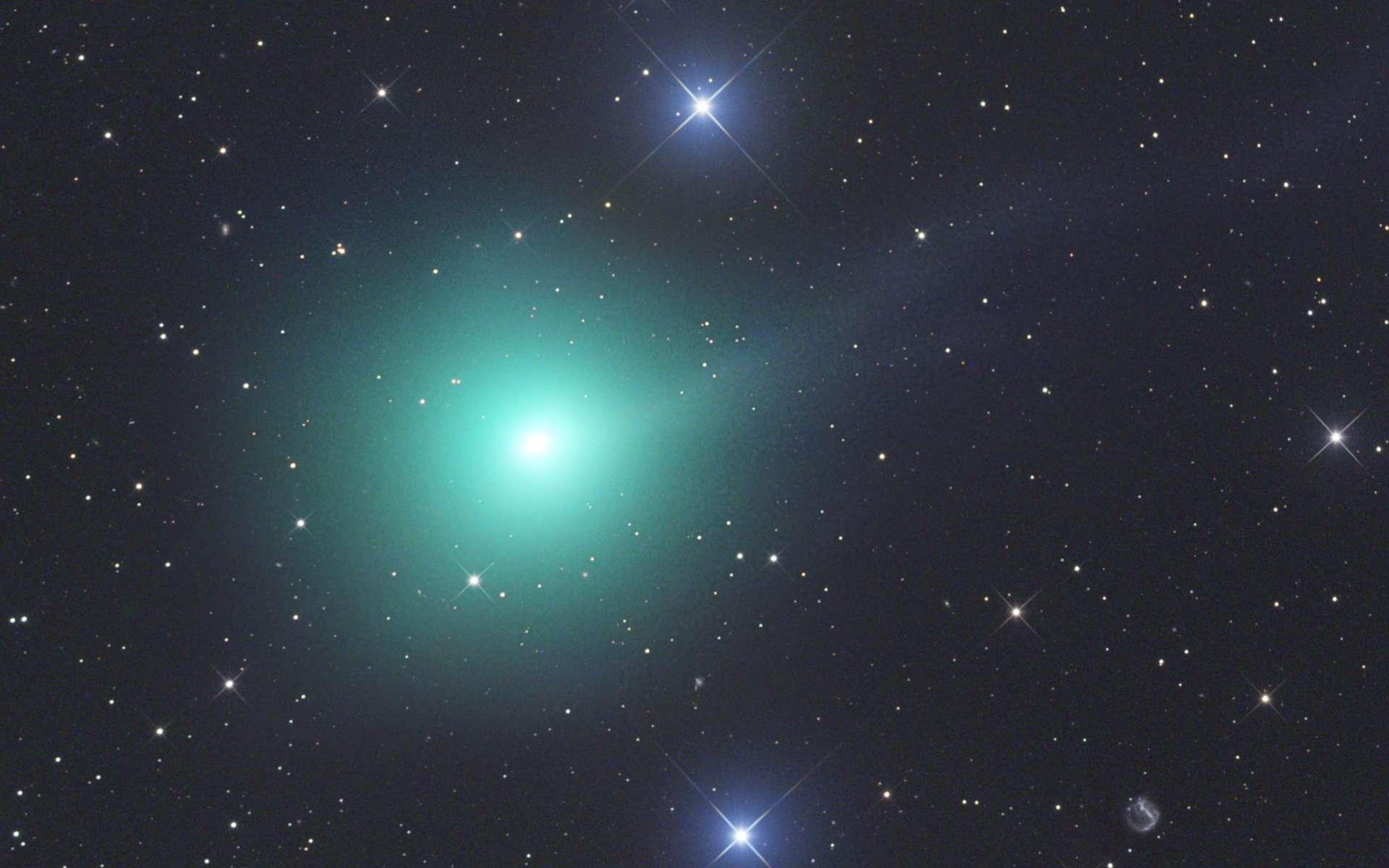 La comète C/2018 Y1 Iwamoto, le 9 février 2019. © Gerald Rhemann, Spaceweather