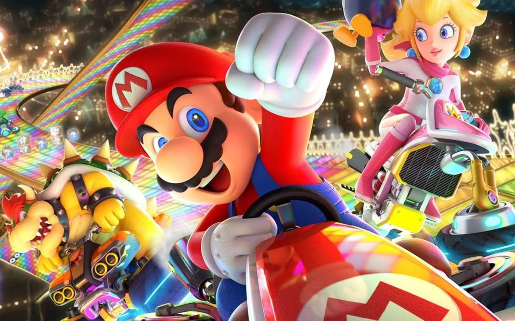 Roi des consoles de jeu, Super Mario a déjà été téléchargé 90 millions de fois depuis sa sortie il y a une semaine. © Nintendo
