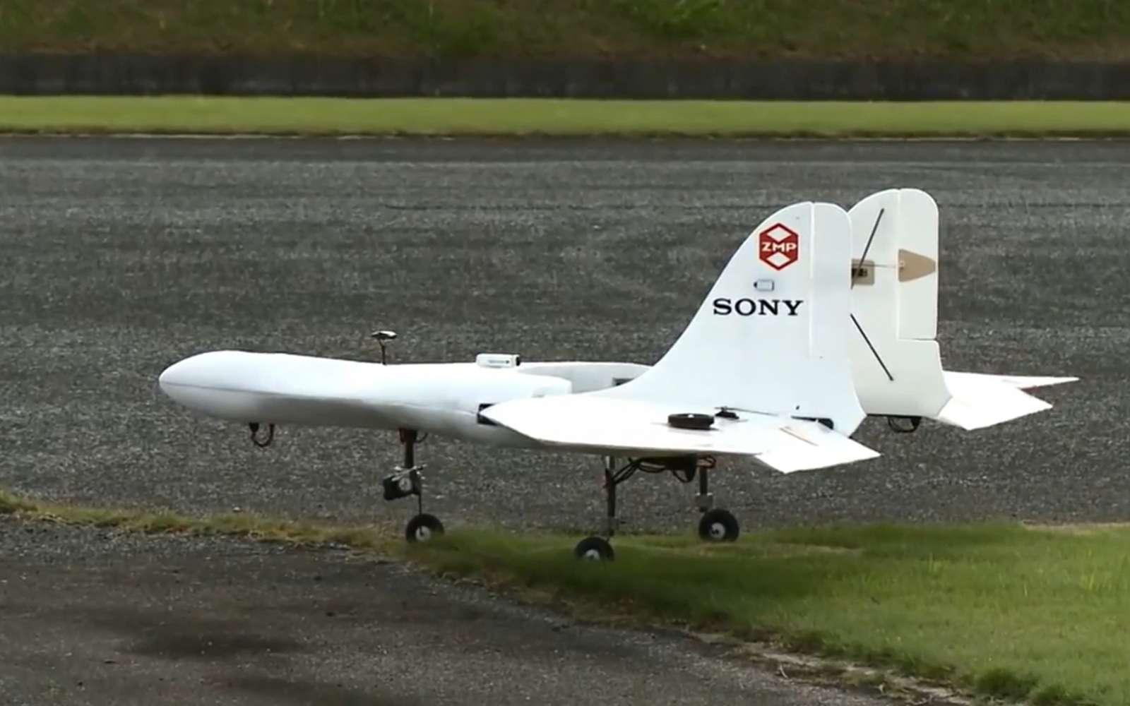 Le marché des drones grand public est essentiellement détenu par deux grosses marque, DJI et Parrot. Sony compte se lancer à son compte sur ce secteur. Il dispose déjà de drones dédiés au marché de l'entreprise avec sa marque Aerosense. © Aerosense Sony