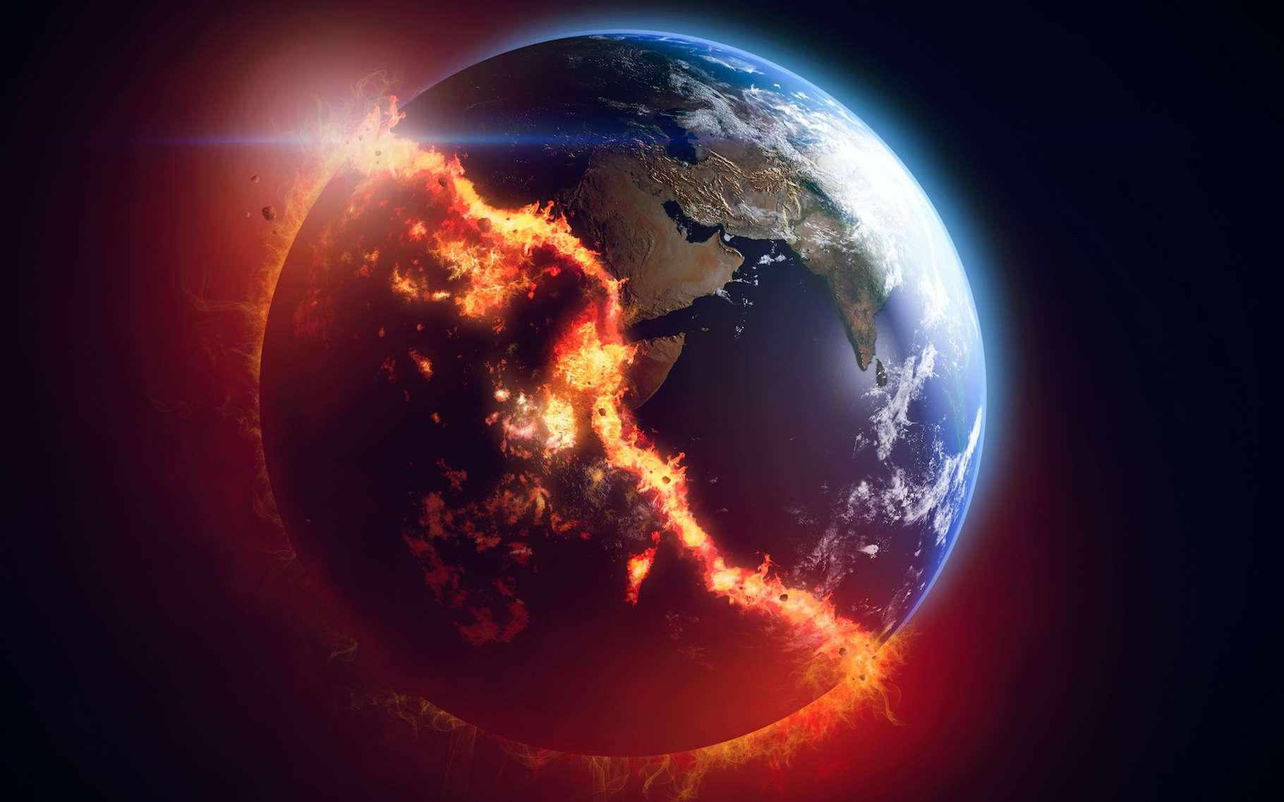 Des chercheurs du Massachusetts Institute of Technology (MIT, États-Unis) ont observé que par le passé, notre Terre a connu un « biais de réchauffement » l'entraînant vers des épisodes de réchauffement plus fréquents et plus intenses que les épisodes de refroidissement. © trahko, Adobe Stock