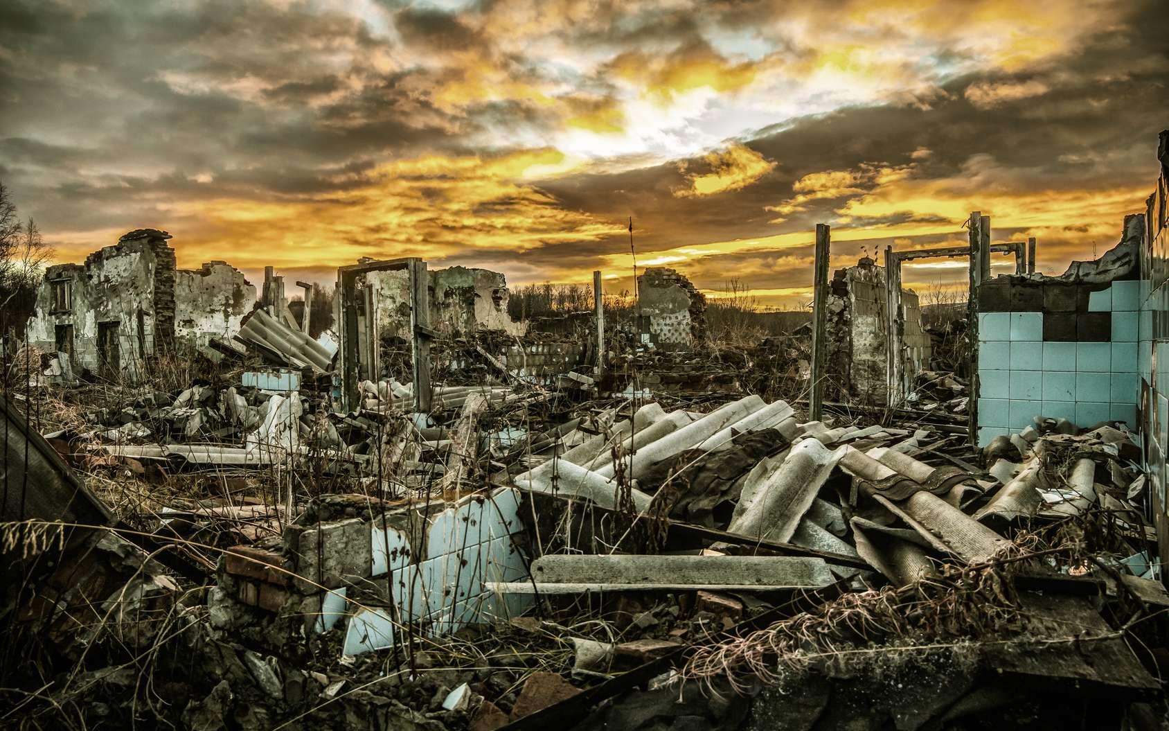 Suite à la disparition de l'électricité, la civilisation tombe dans le chaos. © nouskrabs, Fotolia