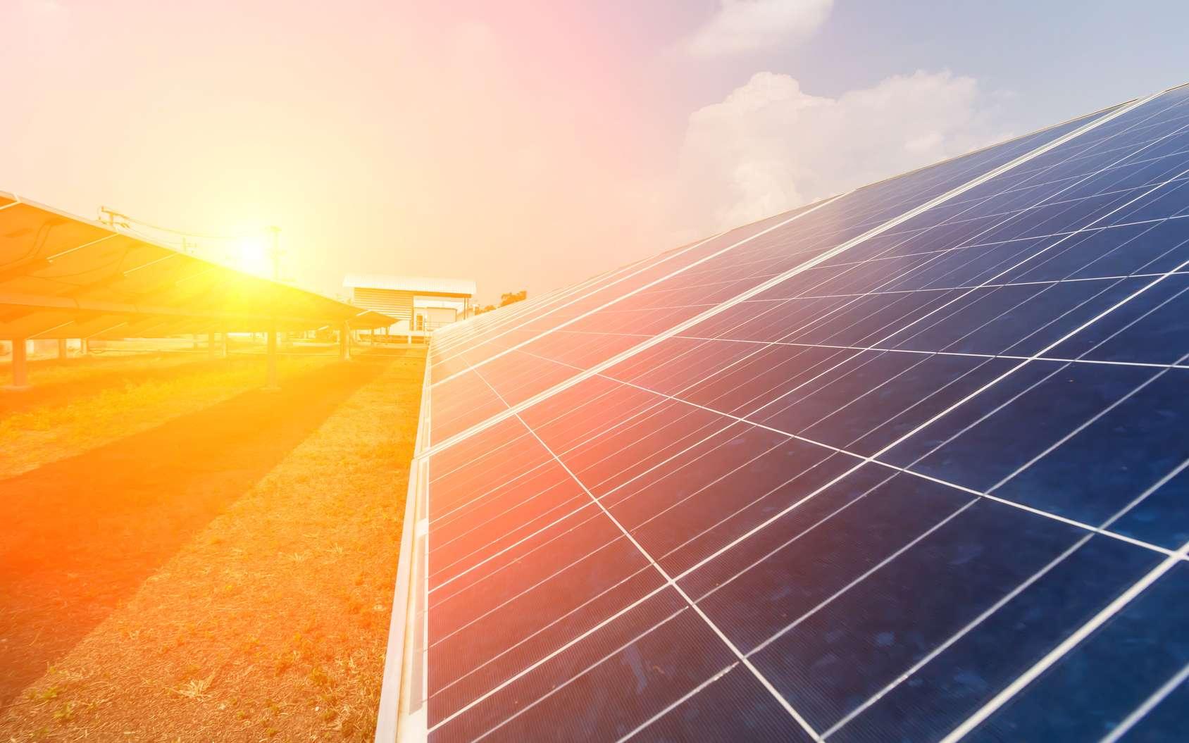 La production d'énergie photovoltaïque est très sensible aux températures. © Kampan, Fotolia