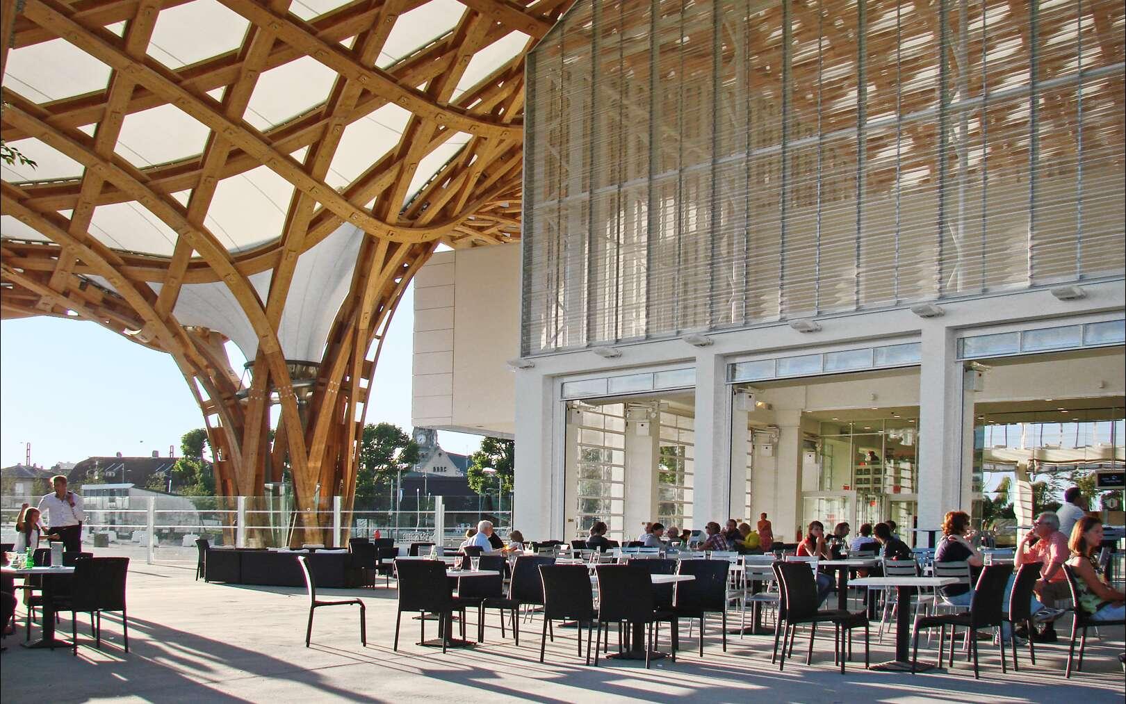 Le maître d'ouvrage du centre Pompidou-Metz est la communauté d'agglomération de Metz-Métropole. © Dalbera, CC BY 2.0, FlickR