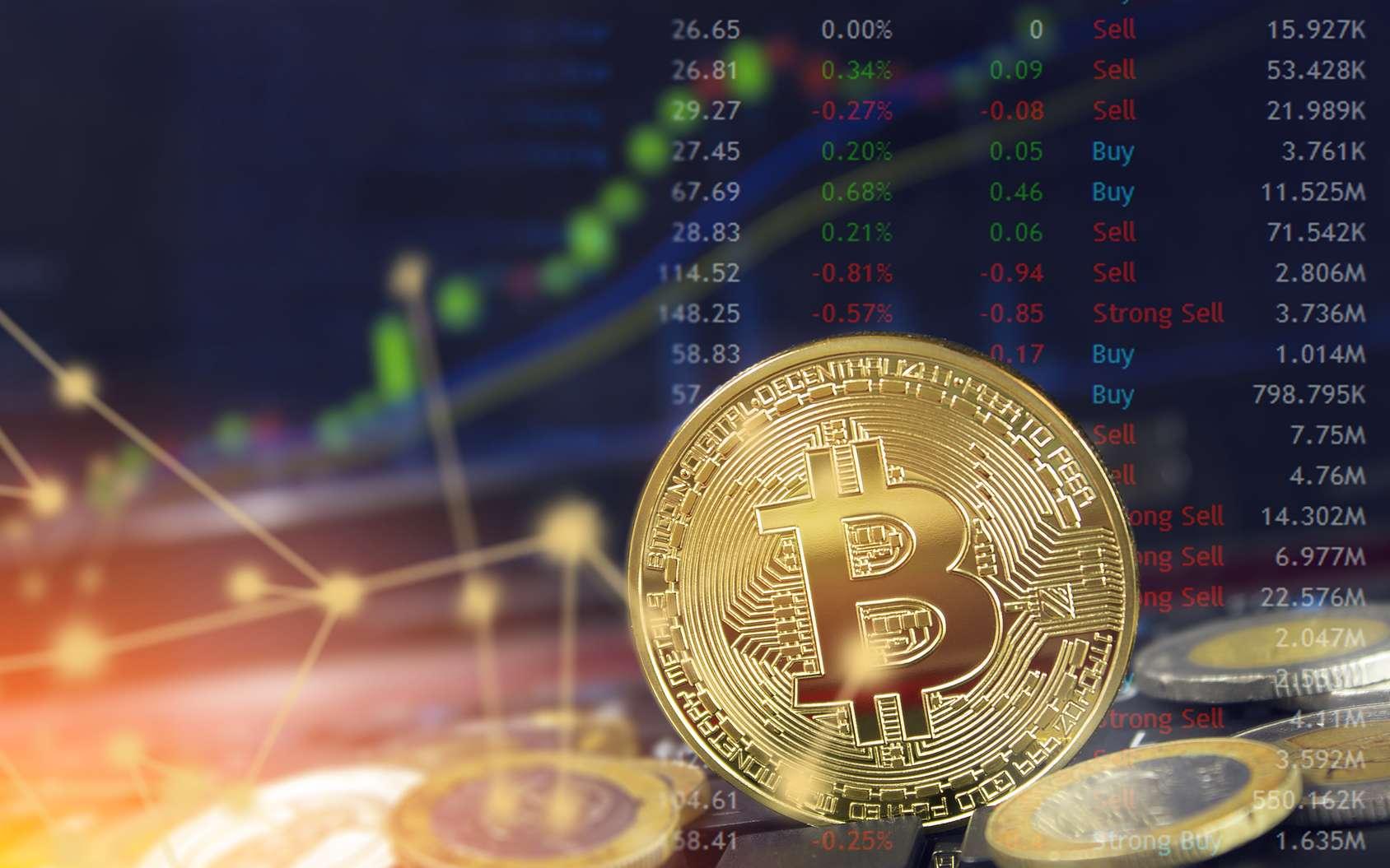 La blockchain et le bitcoin sont nés ensemble, la première ayant pour vocation de sécuriser les transactions réalisées avec le second. L'avenir de cette technologie d'échanges décentralisés va bien au-delà des applications financières. Il s'agit ni plus ni moins d'une façon de répartir la confiance. © Travis, fotolia