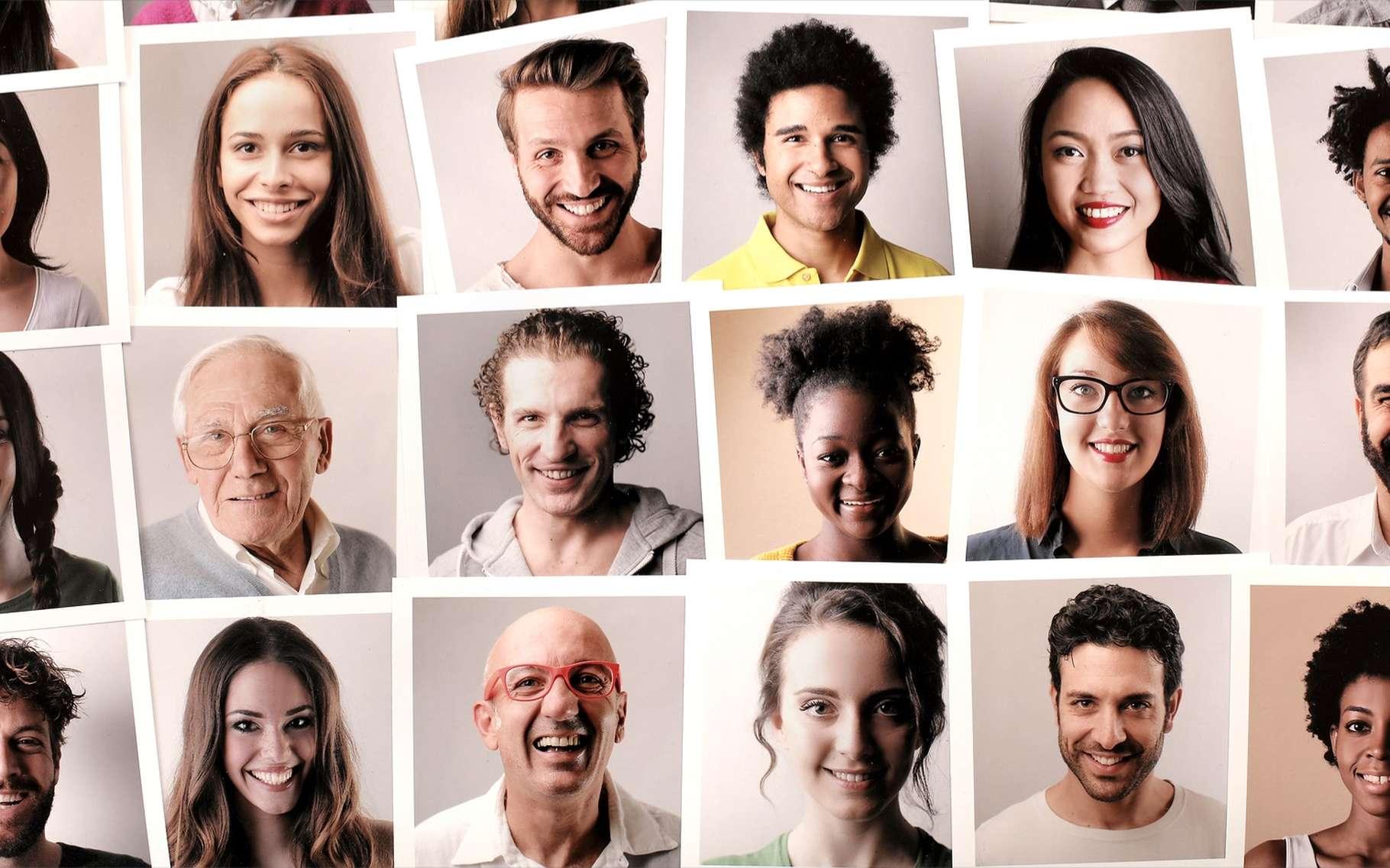 Les super-physionomistes retiennent facilement les nouveaux visages. © Ollyy, Shutterstock