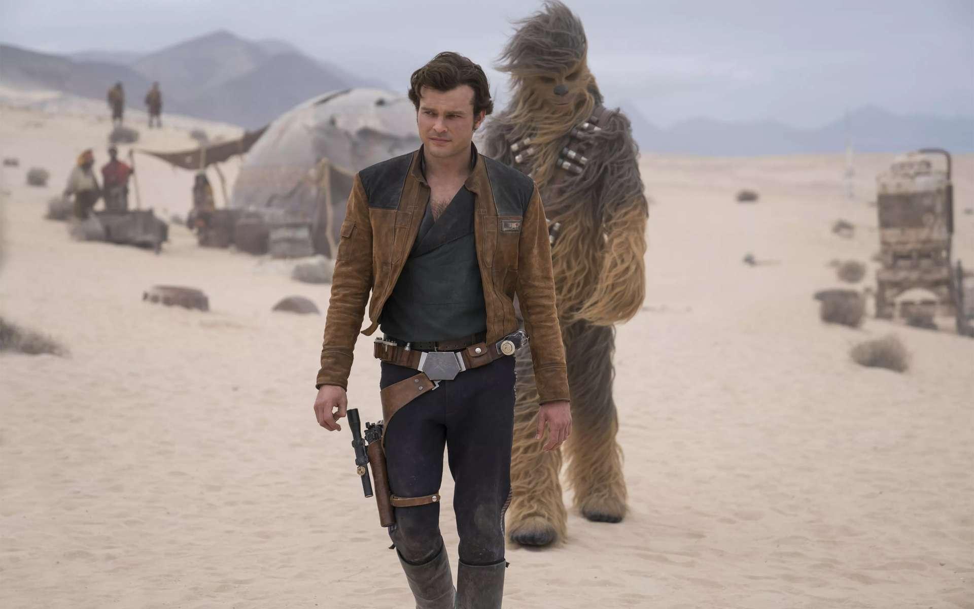 Le blaster, arme fétiche de Han Solo dans la saga Star Wars, relève-il vraiment de la fiction ? La physique des plasmas peut expliquer son fonctionnement. © Lucasfilm Ltd, 2018