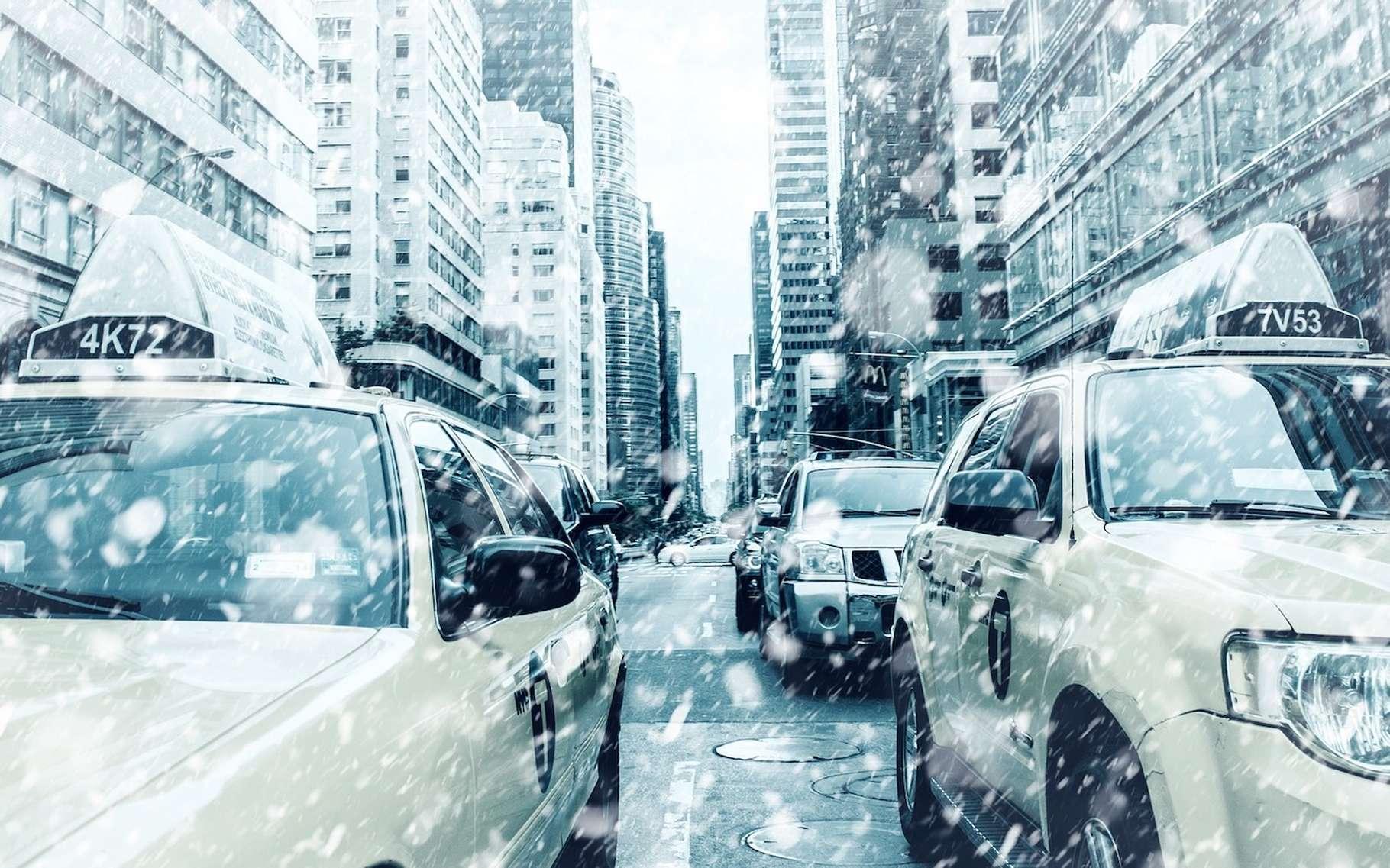 Le terme de vortex polaire a été médiatisé pendant la vague de froid qui a touché l'Amérique du Nord durant l'hiver 2013-2014. © Nick_H, Pixabay, CC0 Creative Commons