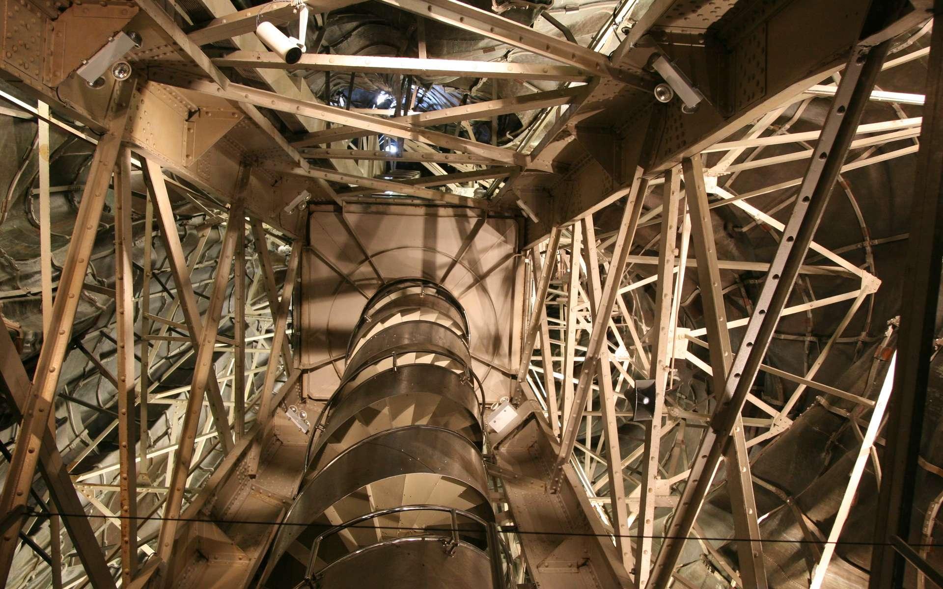 Le fer et l'acier ont joué un rôle important dans la construction de la statue de la Liberté. © Daniel Schwen, Wikimedia Commons, cc by sa 3.0