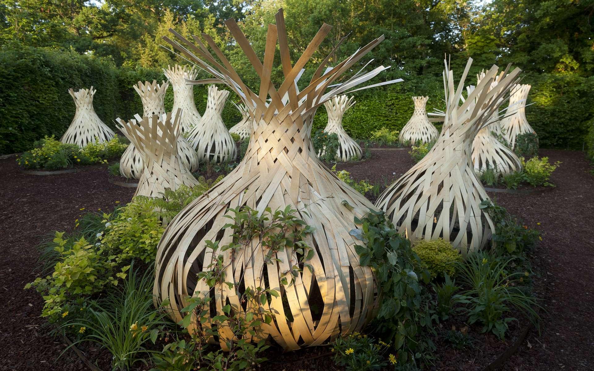Le festival international des jardins de Chaumont-sur-Loire est un rendez-vous incontournable de l'art des jardins. Créé en 1992, il s'adresse aussi bien aux spécialistes qu'à un large public. © E. Sander, domaine de Chaumont-sur-Loire