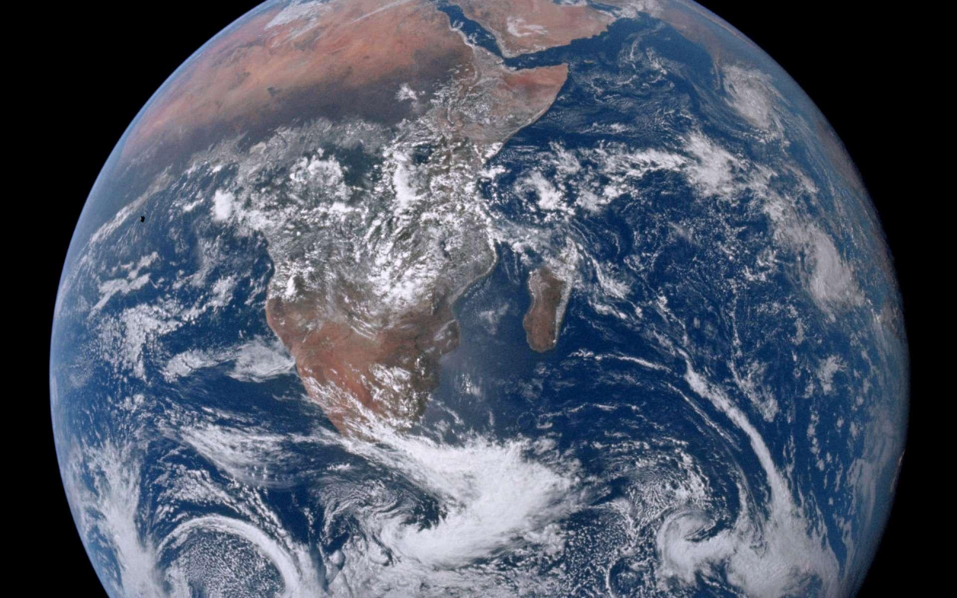 Une célèbre image de la Terre et de ses océans prise par les astronautes d'Apollo 17. © Nasa