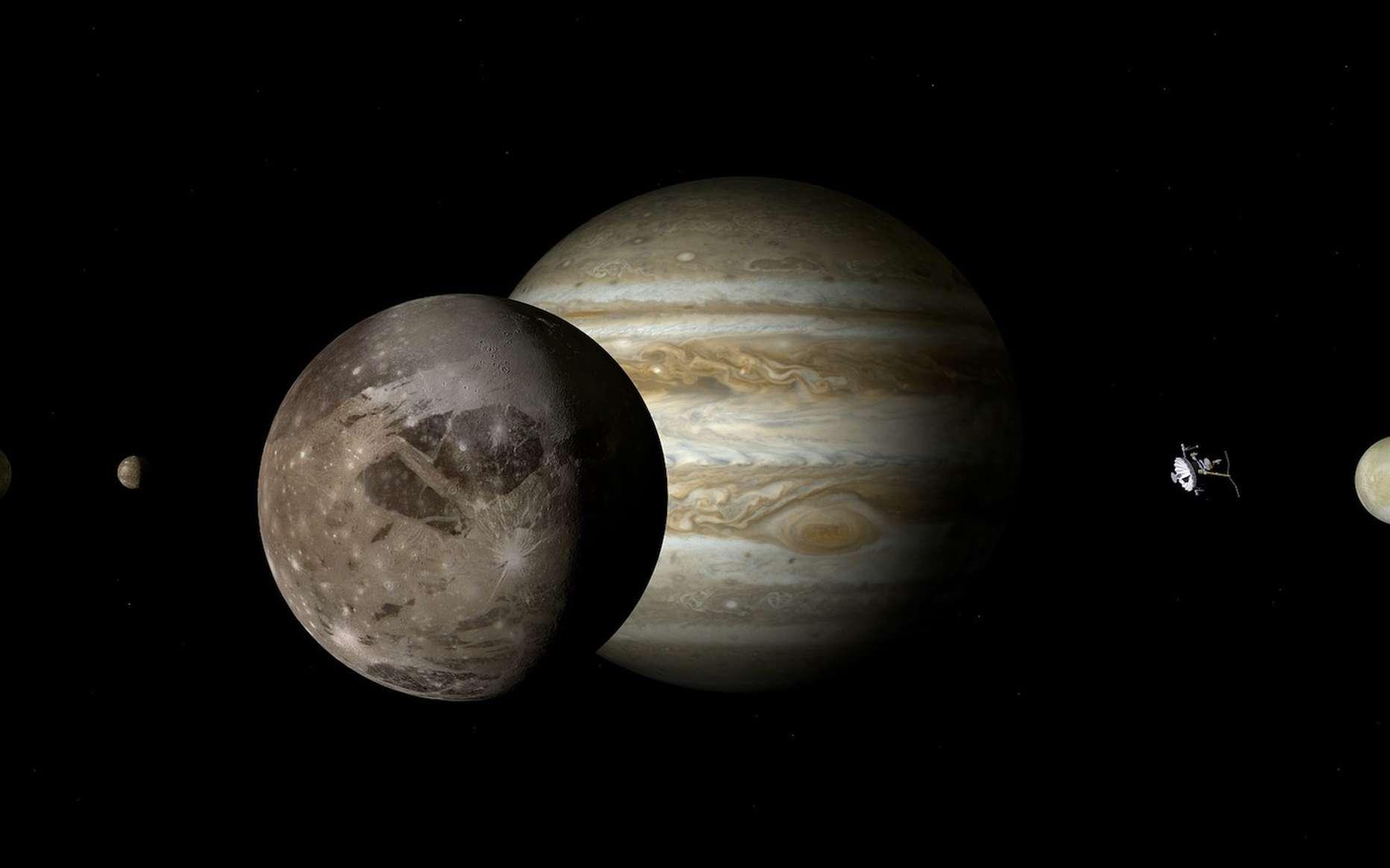 De l'hydrogène métallique pourrait exister au cœur de Jupiter. © DasWortgewand, Pixabay, DP