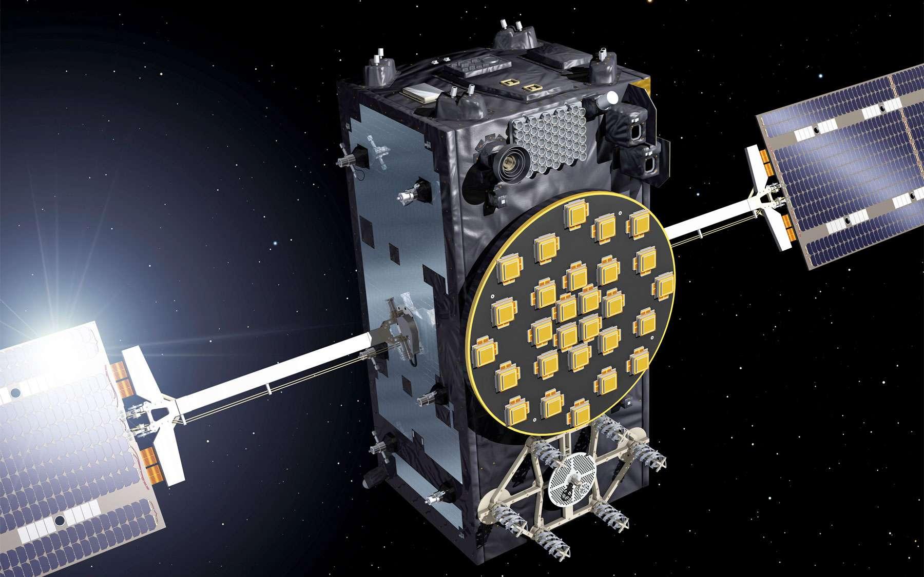 Installés sur une mauvaise orbite, les deux premiers satellites Galileo de la phase opérationnelle seront tout de même utiles à la constellation. Ils ne pourront pas servir au fonctionnement même de la constellation Galileo, donc au positionnement, la fonction de ce GPS européen, mais seront utilisés à des fins de validation et de test. © Esa, J. Huart