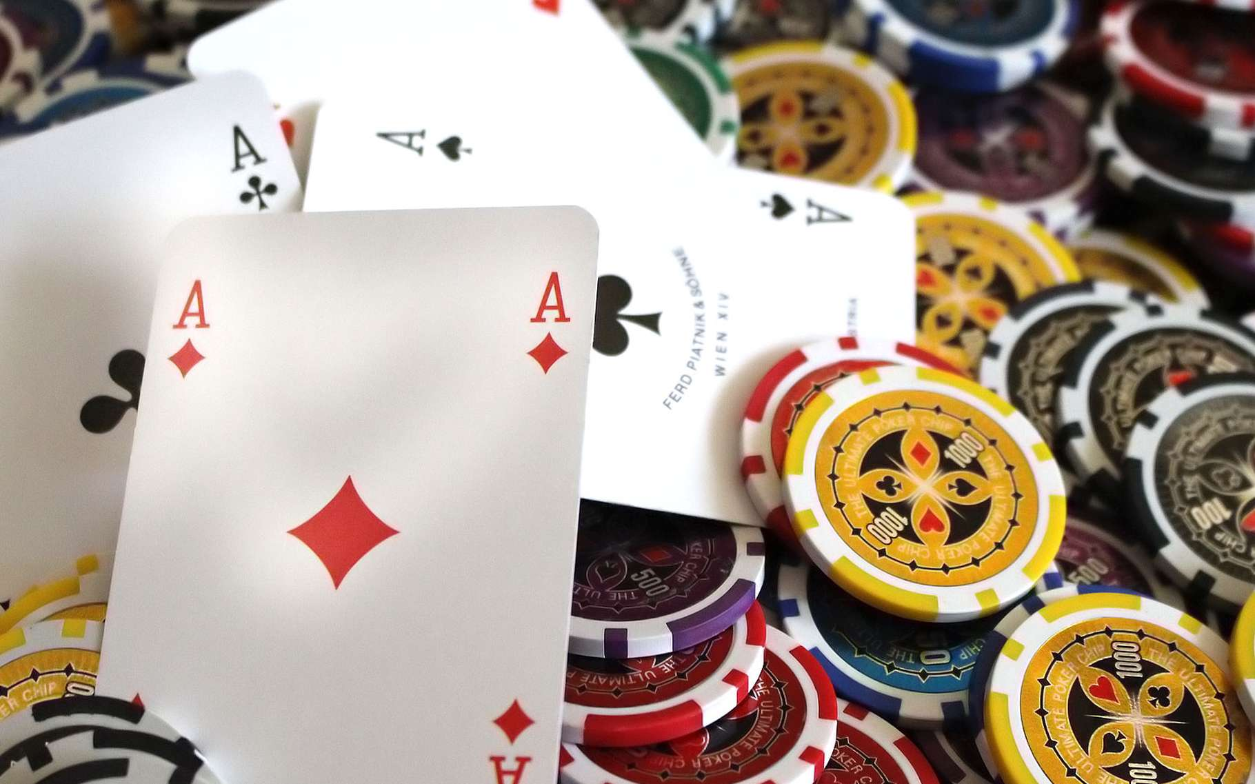 Le poker et les mathématiques. © Petja24, Pixabay, Domaine Public