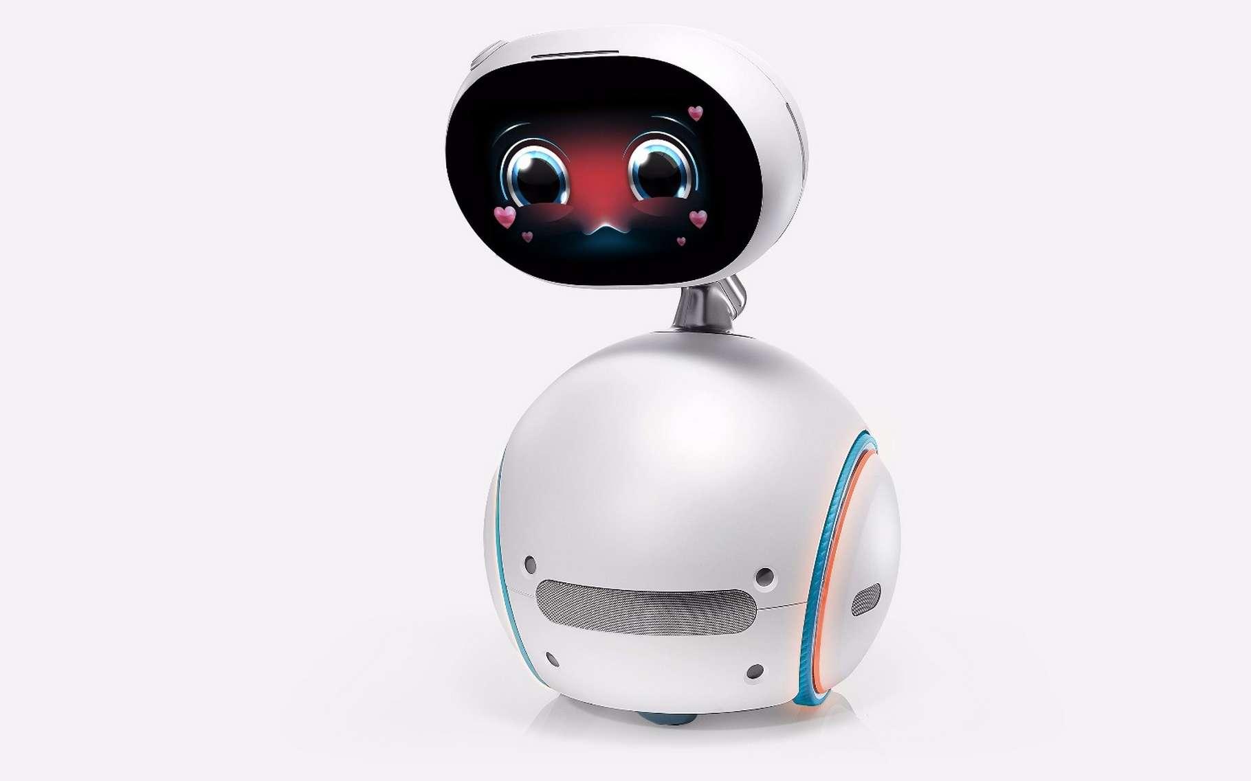 Asus mise sur la robotique domestique avec Zenbo, un sympathique petit robot destiné à servir tous les membres de la famille. © Asus
