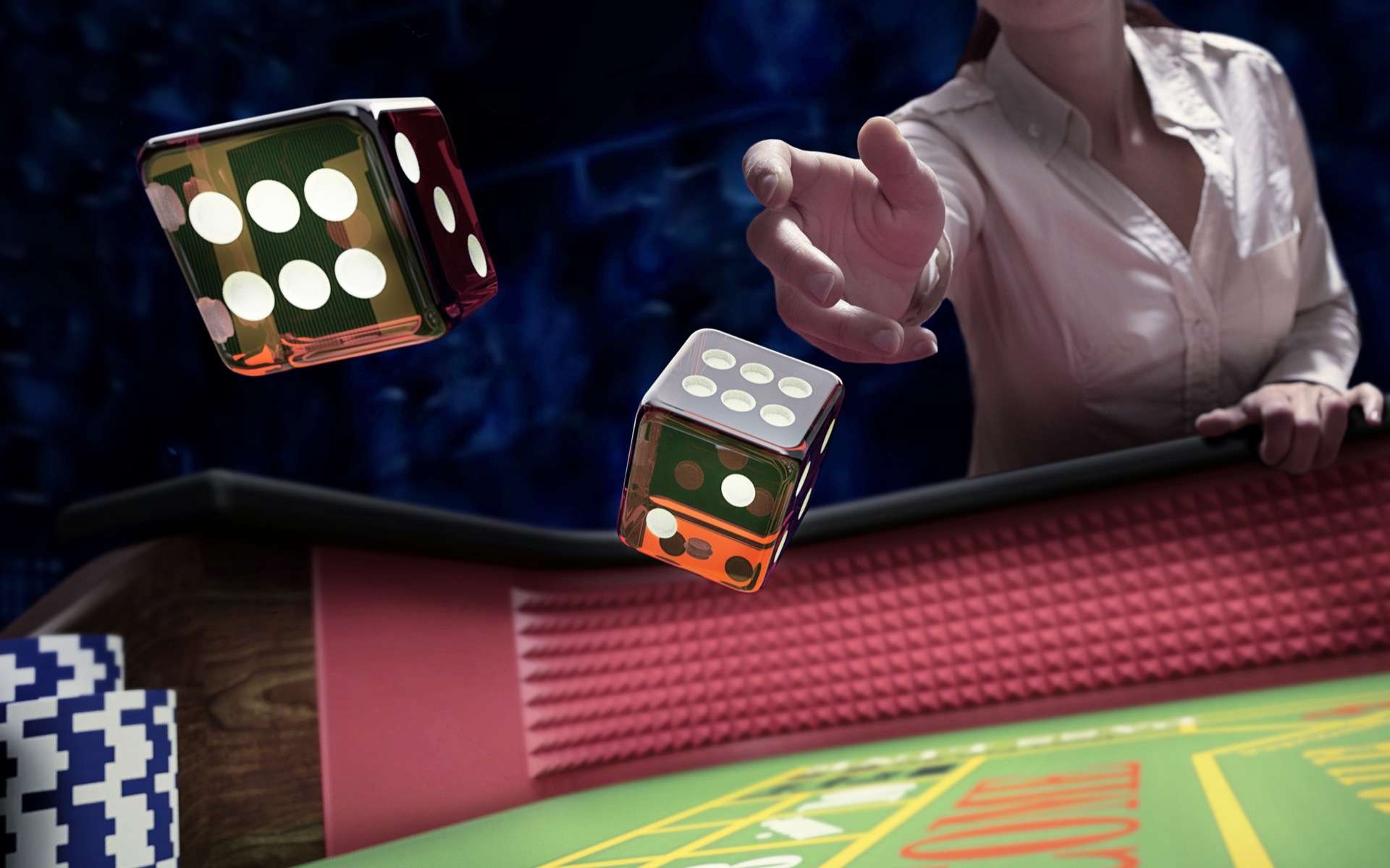 Jouer au craps sans piper les dés. © serpeblu, Adobe Stock
