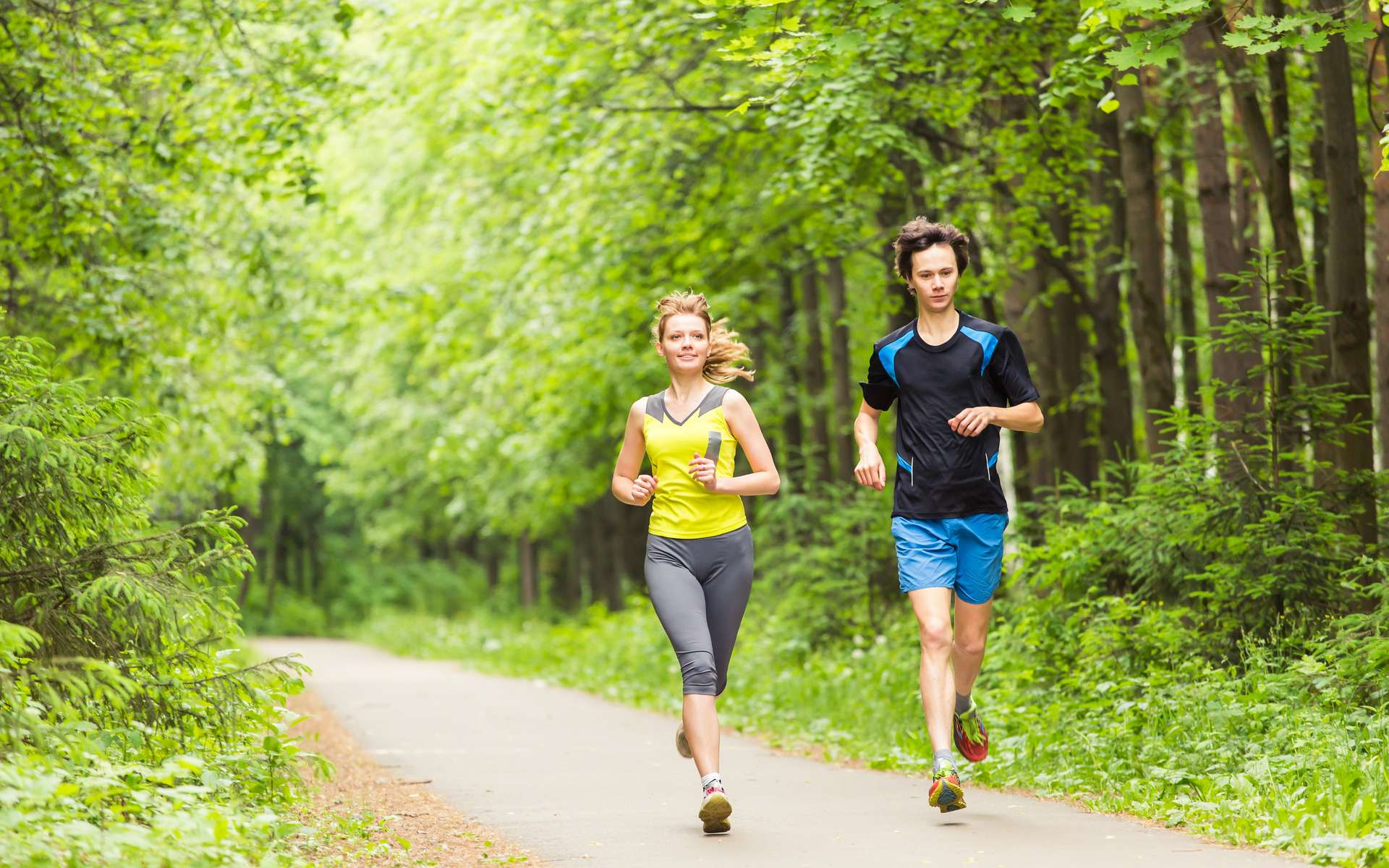 La course à pied est un sport bénéfique pour la santé. © Satura, Adobe Stock