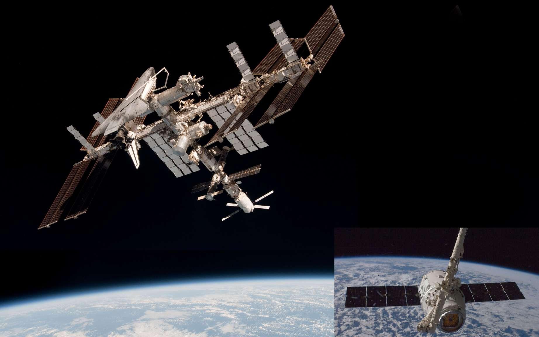 En démontrant qu'il était possible à un engin ni russe ni américain de s'amarrer à la Station en sécurité, l'ATV a facilité la tâche à SpaceX qui s'est appuyé sur ce programme pour préparer sa capsule Dragon. © Nasa