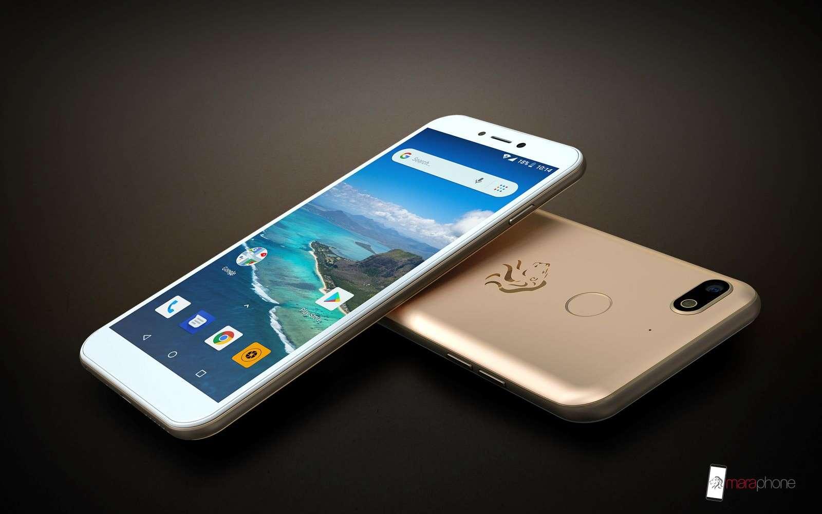 Le design des deux smartphones n'a rien à envier à des modèles deux à trois plus cher. © Mara Phones