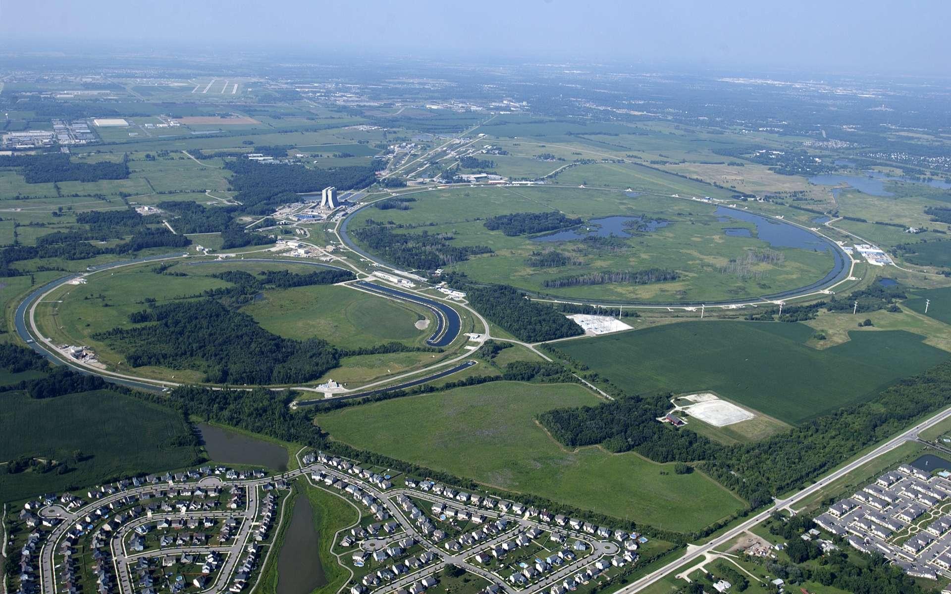 Le Tévatron du Fermilab sera bien fermé en septembre 2011. © Fermilab-Reidar Hahn