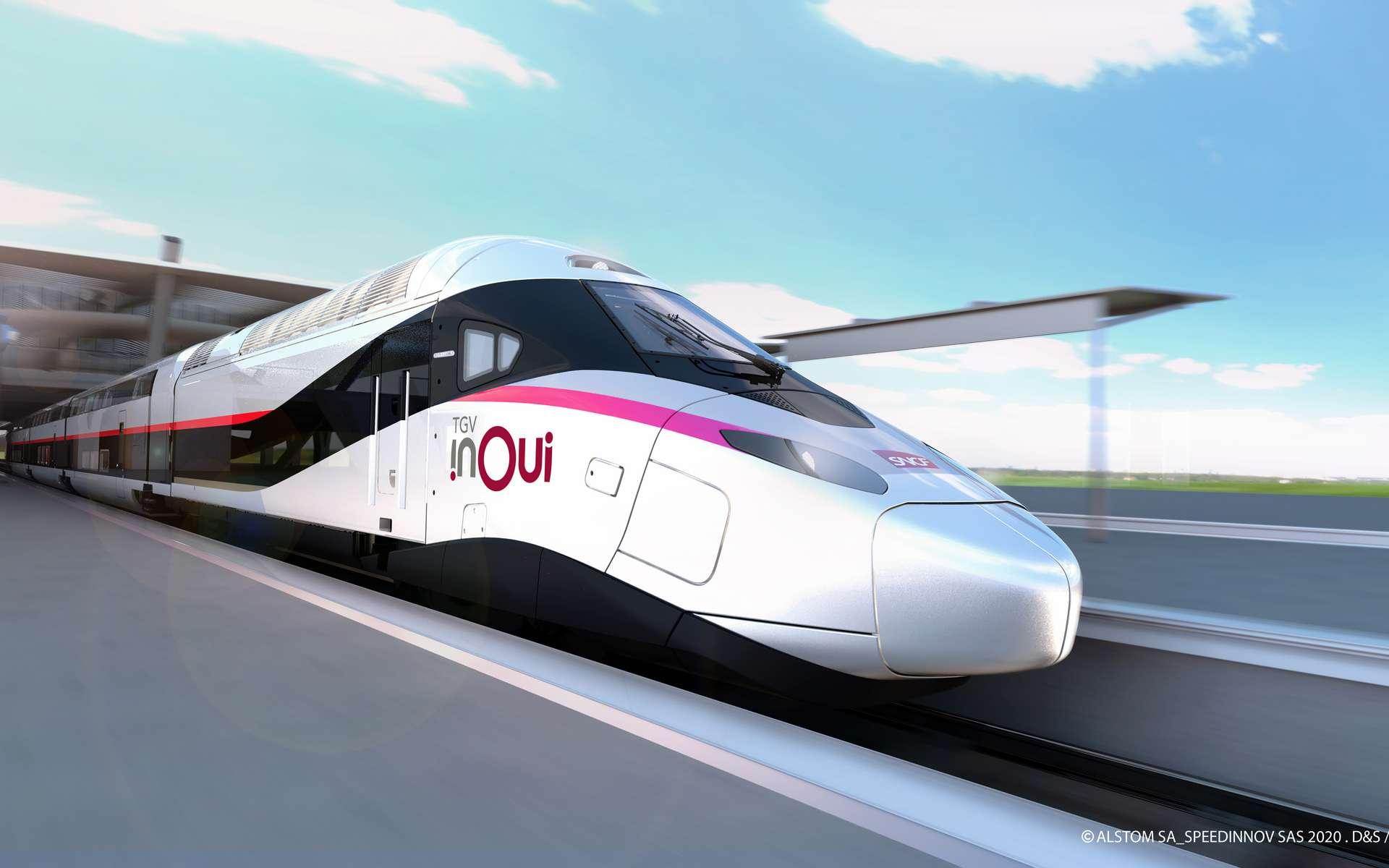 Le TGV M sera mis en service en juin 2024. © SNCF
